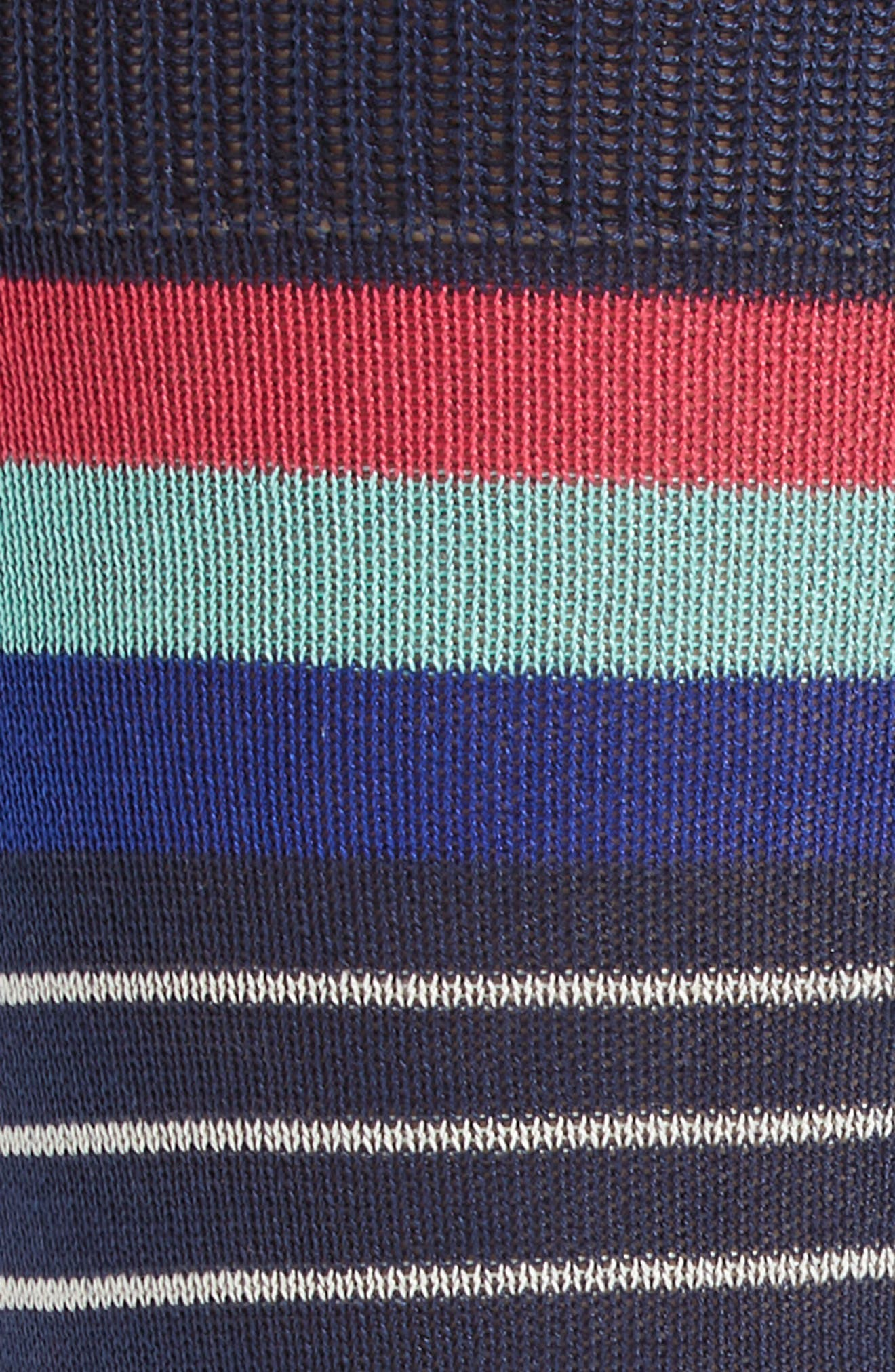 Alternate Image 2  - Paul Smith Kel Stripe Crew Socks