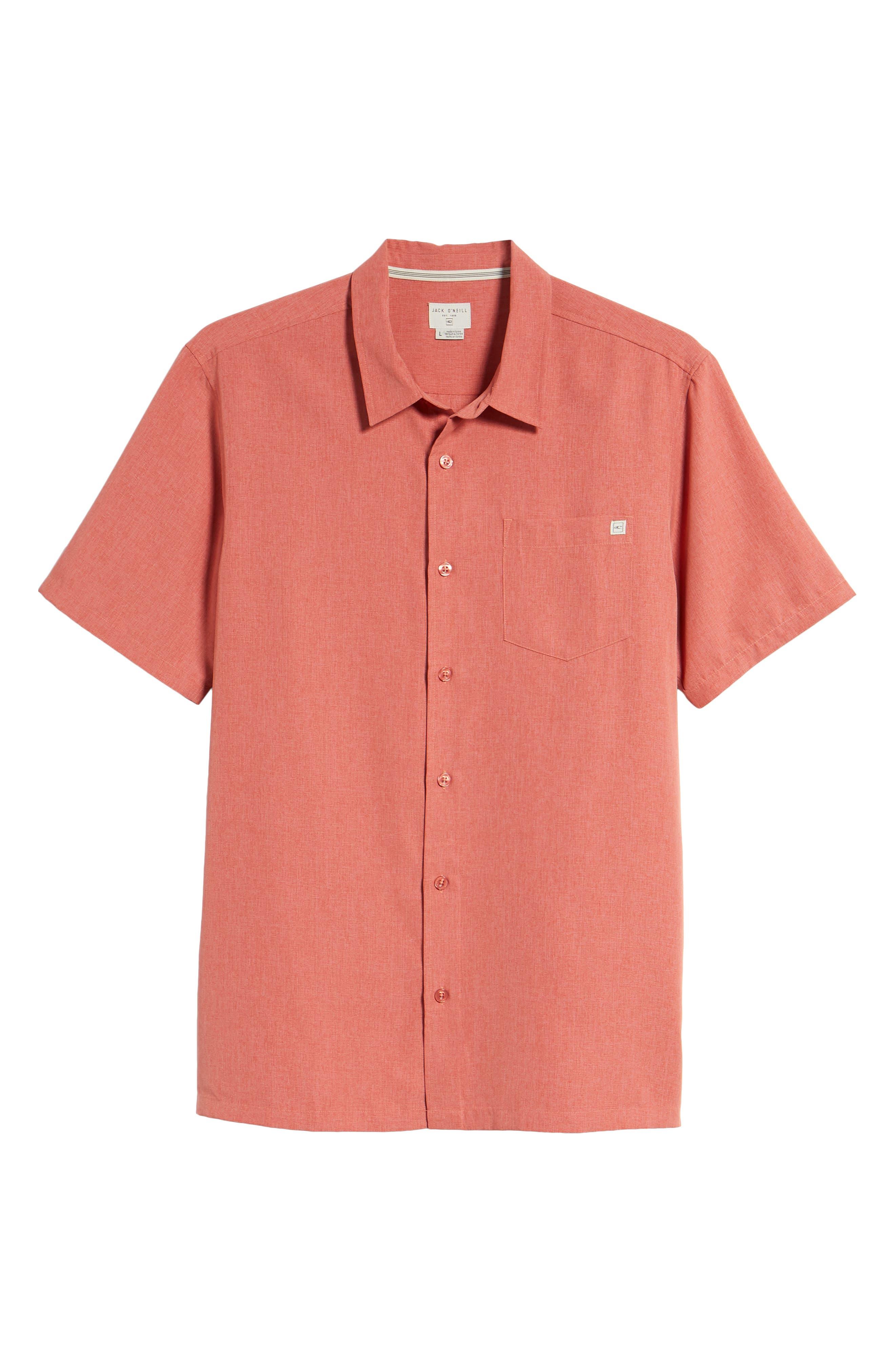 Liberty Sport Shirt,                             Alternate thumbnail 6, color,                             Spice