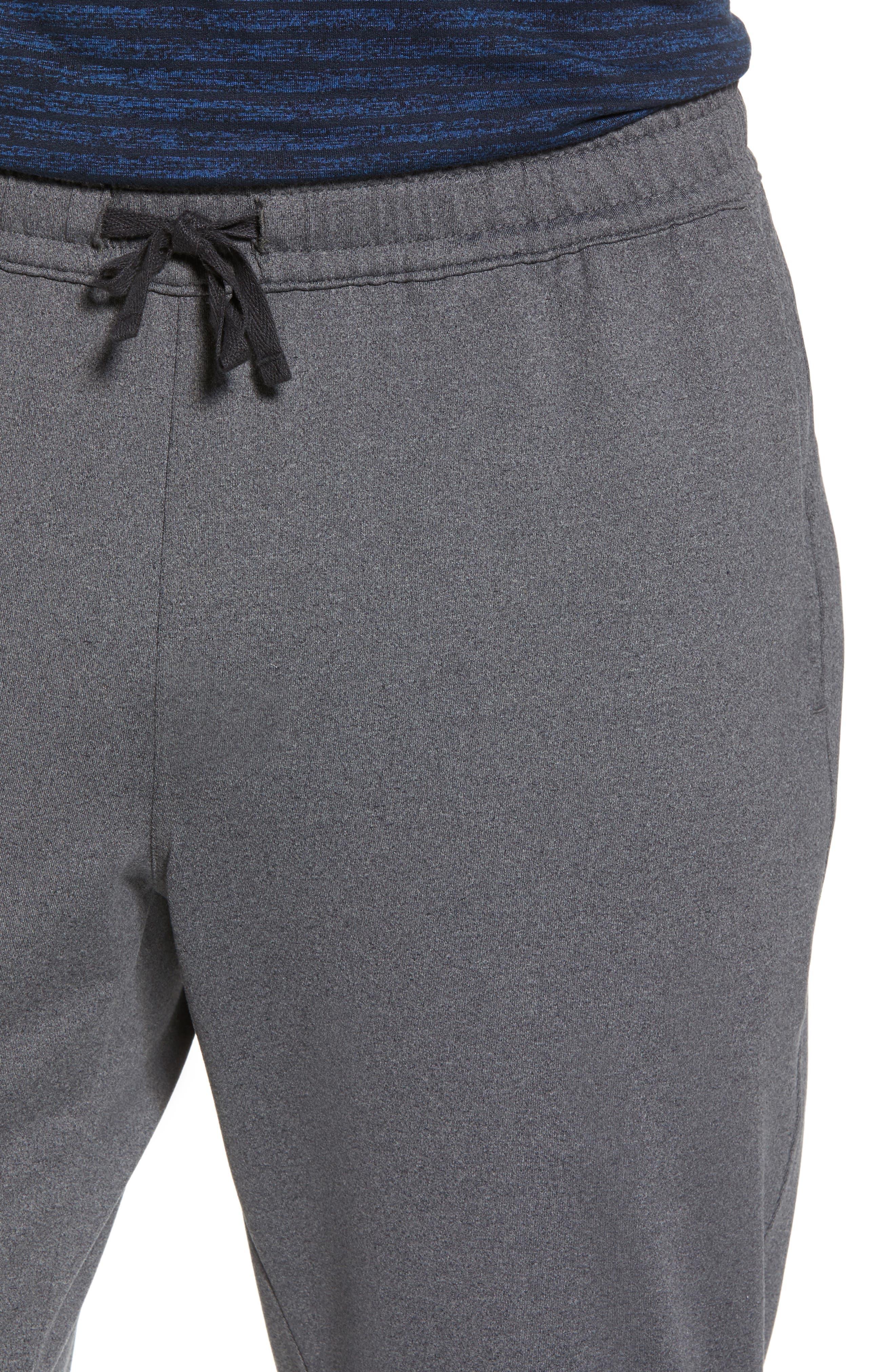 Active Crop Jogger Pants,                             Alternate thumbnail 4, color,                             Grey Obsidian Melange