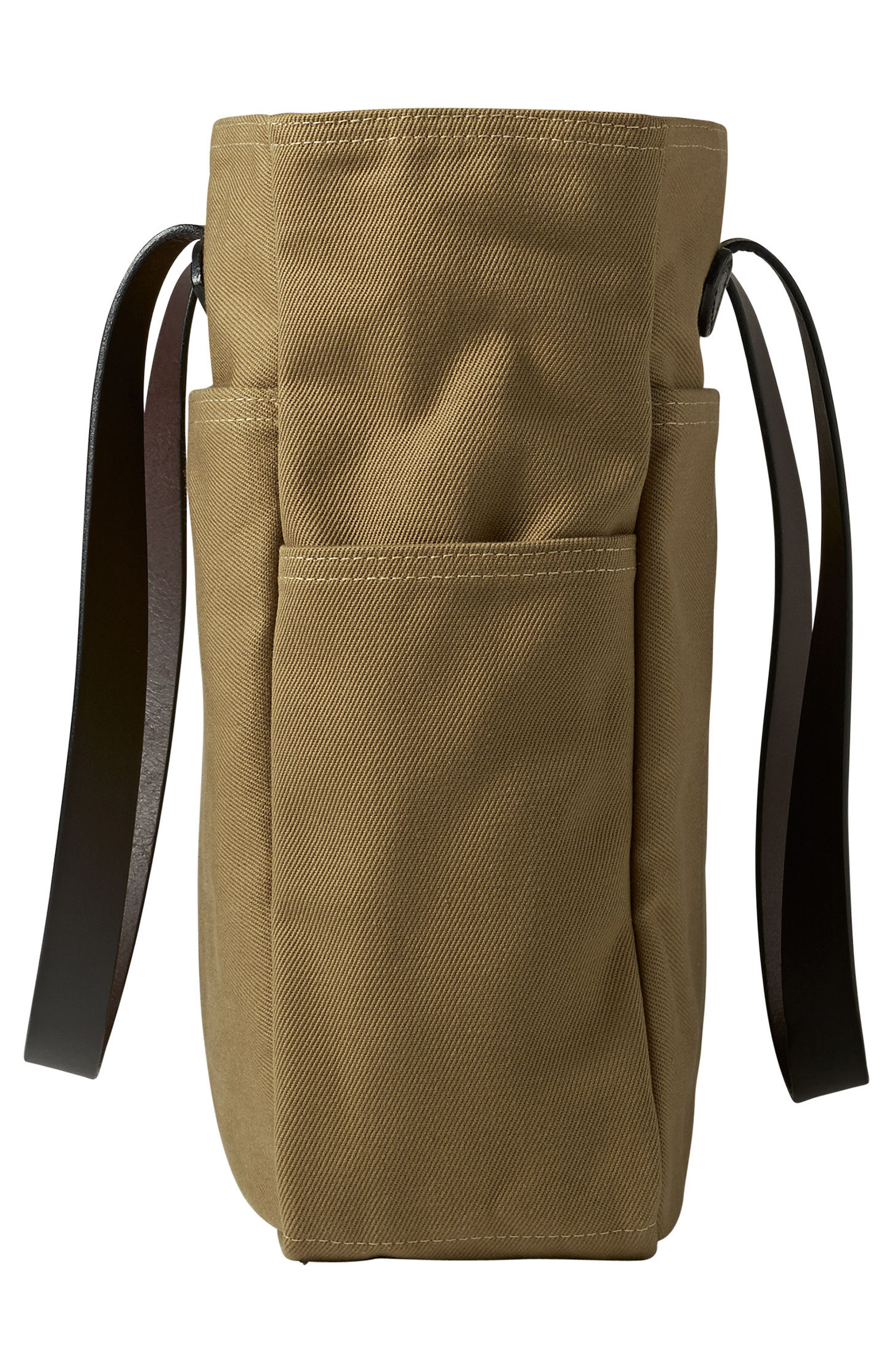 Rugged Twill Tote Bag,                             Alternate thumbnail 3, color,                             Tan