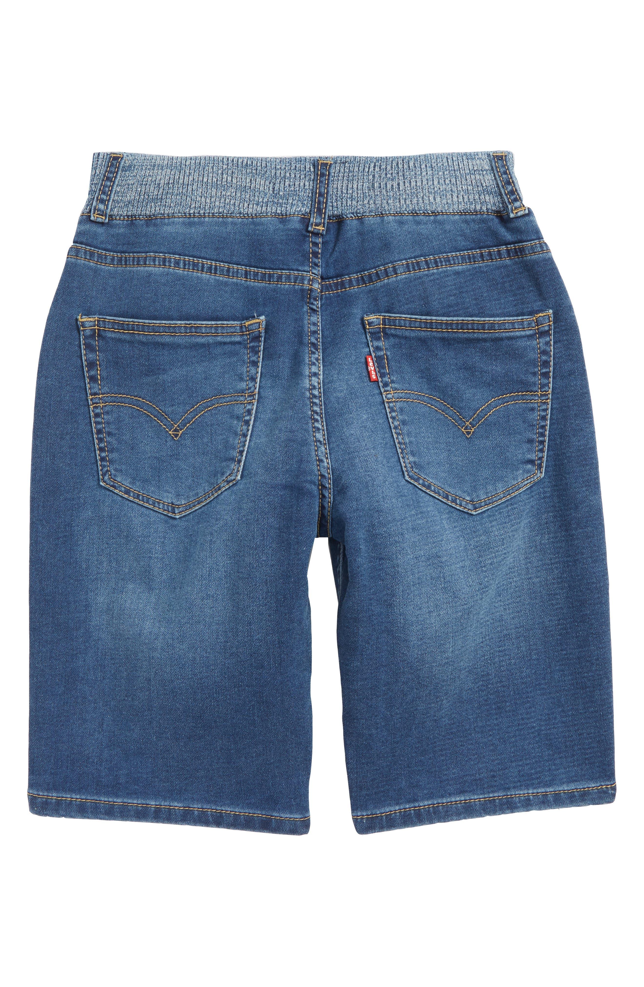Levi's Super Chill Denim Shorts,                             Alternate thumbnail 2, color,                             Coastal Sd