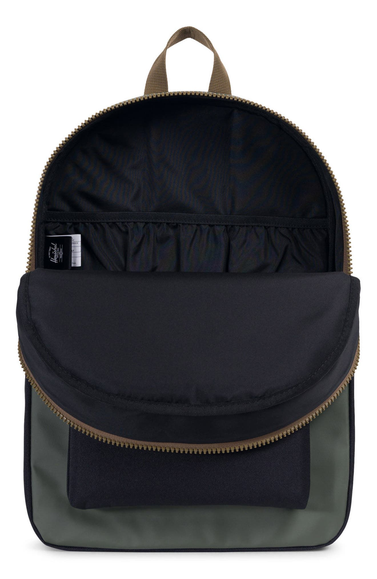 Winlaw Studio Backpack,                             Alternate thumbnail 3, color,                             Beetle Black/ Goth Olive