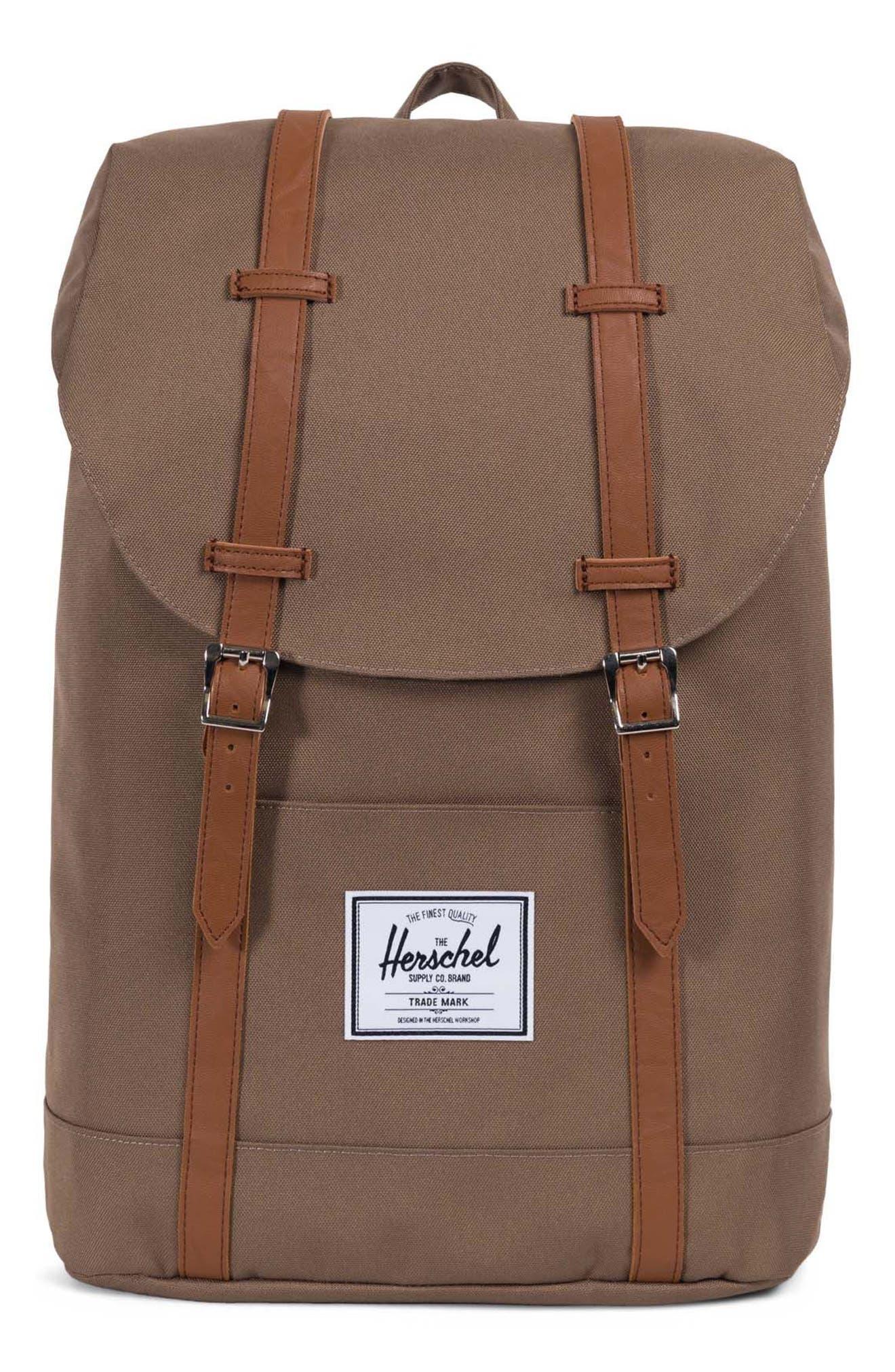 fc8c8fb29c2d Herschel Supply Co.  Retreat  Backpack - Brown In Cub Tan