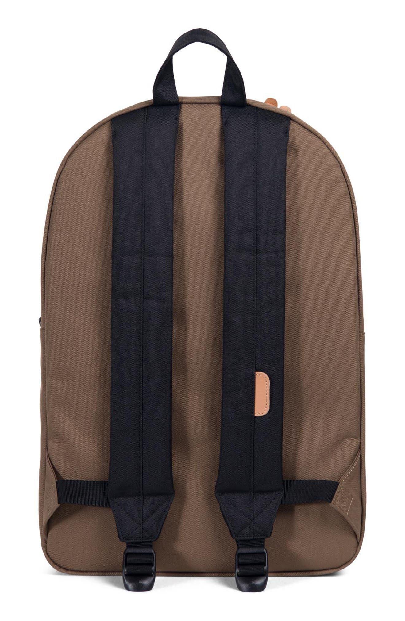 Heritage Offset Stripe Backpack,                             Alternate thumbnail 2, color,                             Cub/ Black/ White