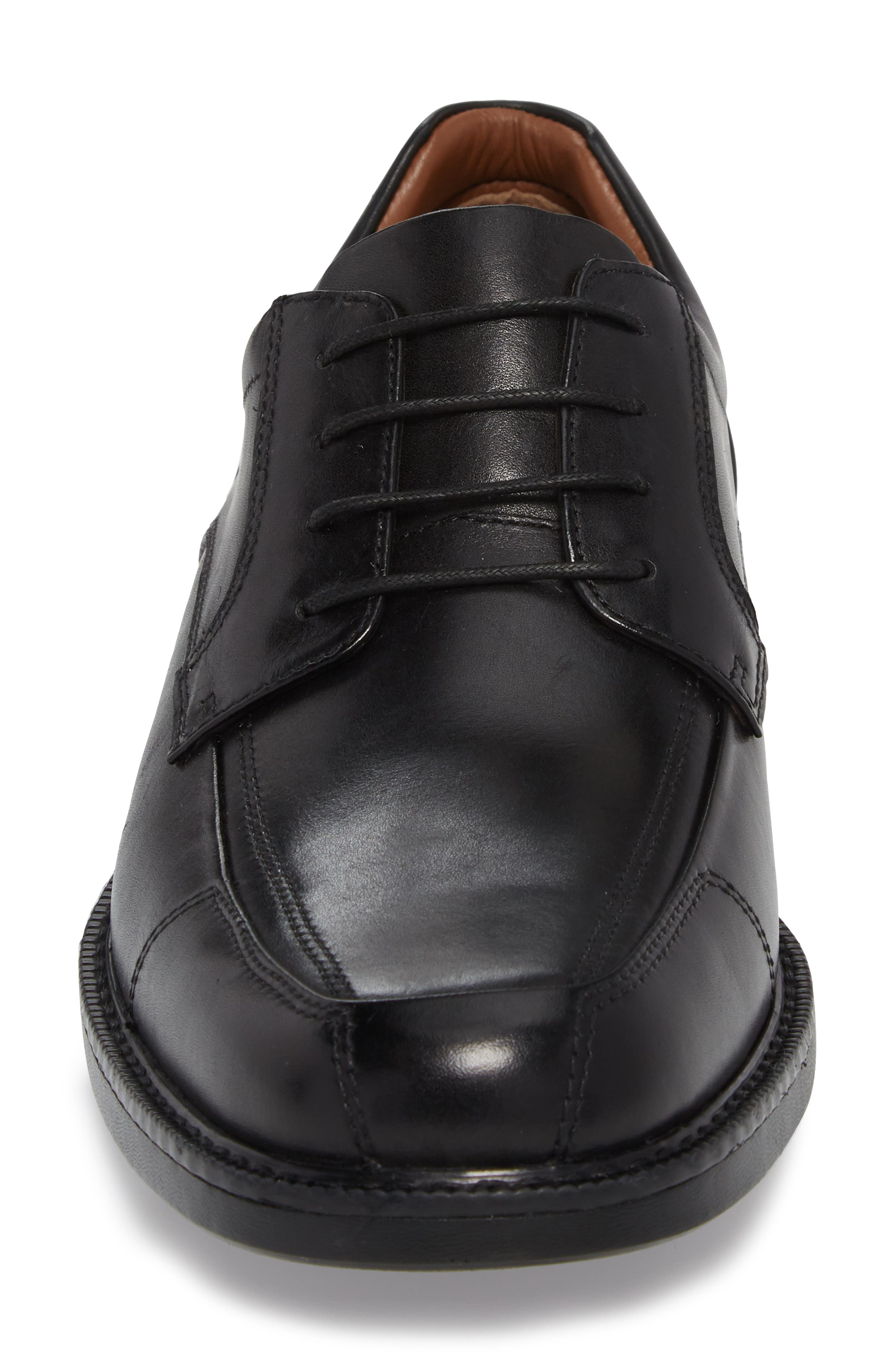 Stanton XC4<sup>®</sup> Waterproof Derby,                             Alternate thumbnail 4, color,                             Black Leather