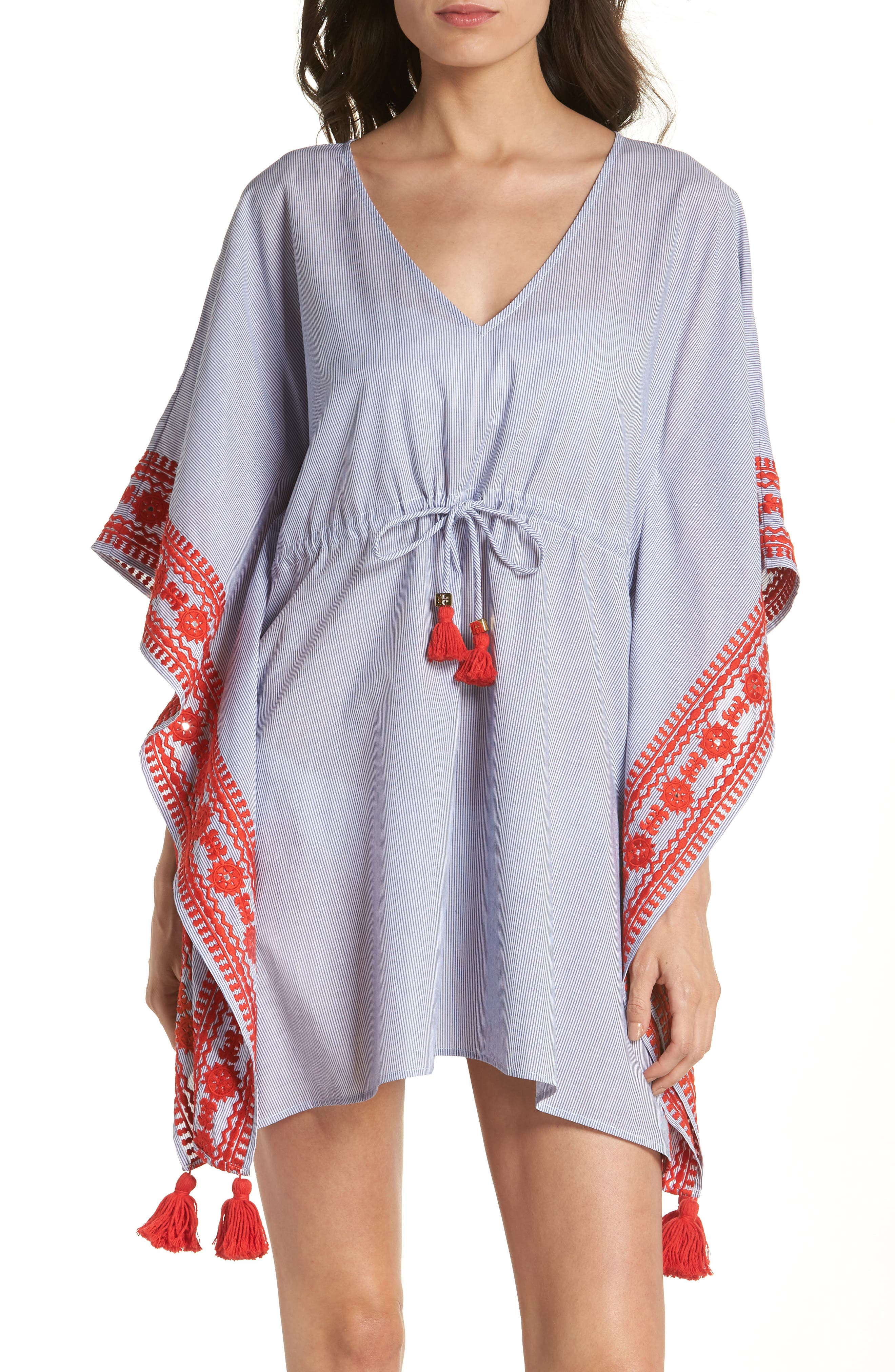 Tory Burch Ravena Cover-Up Caftan