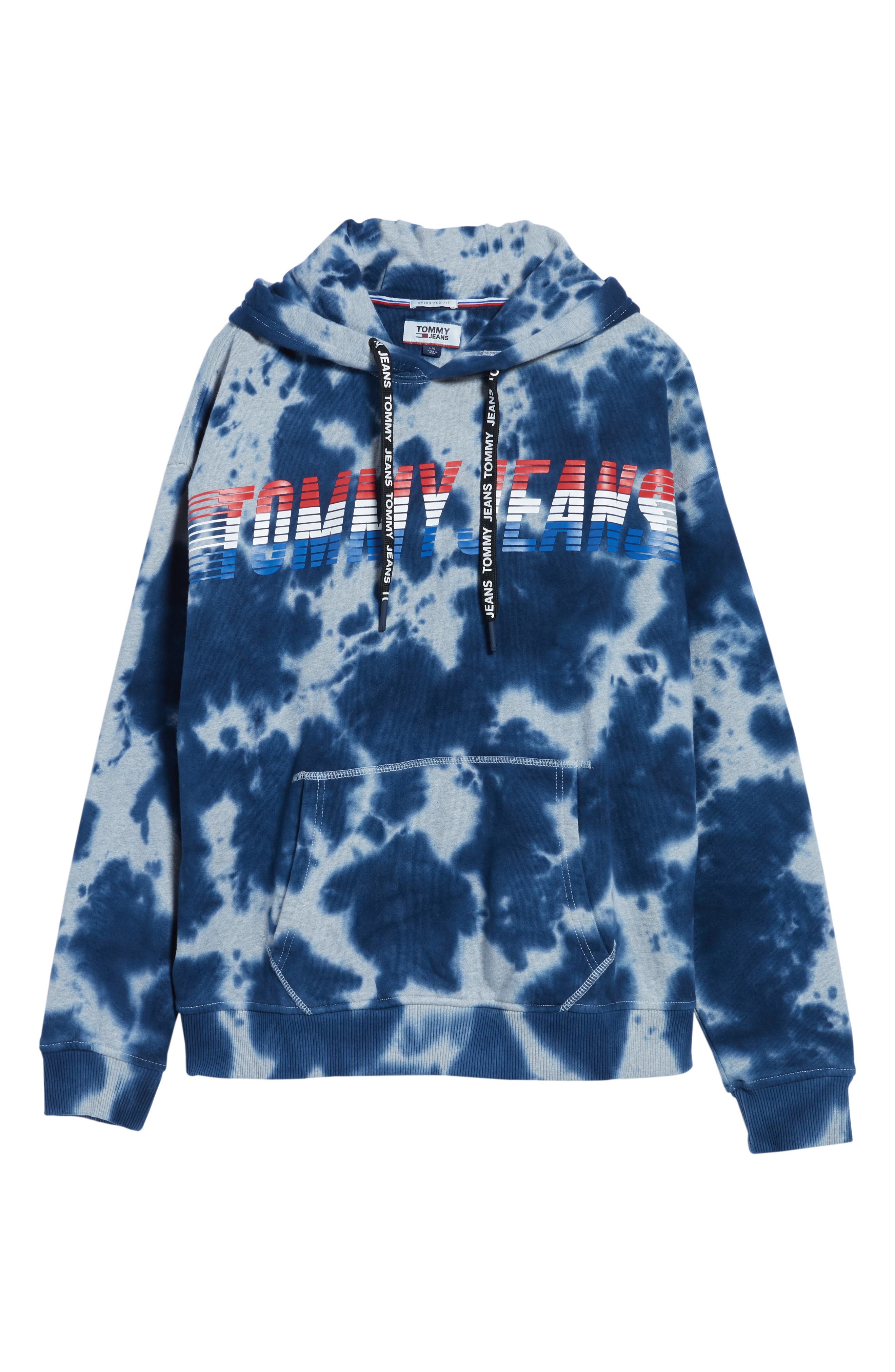 Vintage Dye Hoodie Sweatshirt,                             Alternate thumbnail 6, color,                             Light Grey Heather Tie Dye