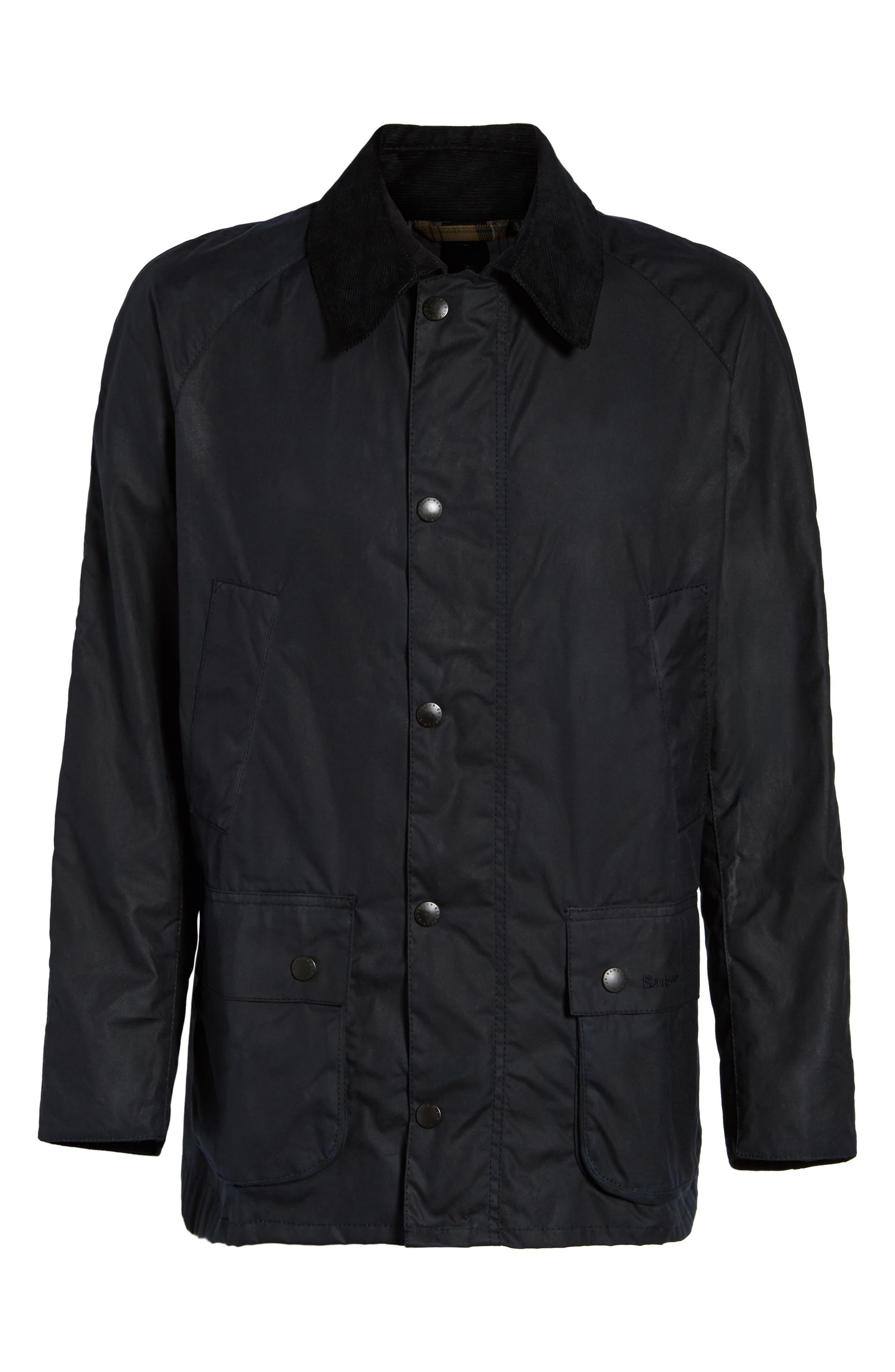 Ashby Wax Jacket,                             Main thumbnail 1, color,                             Navy