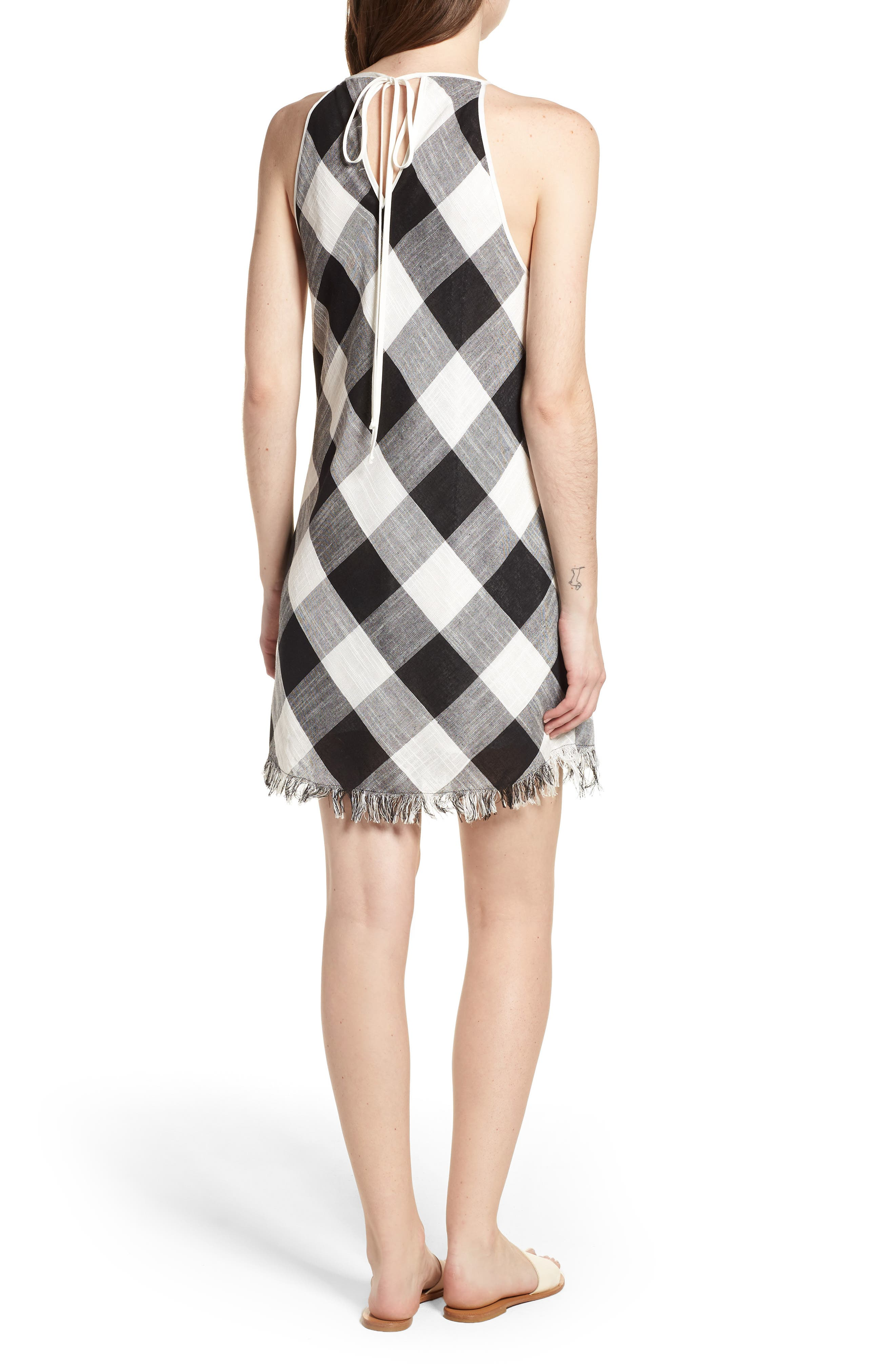 Bishop + Young Gingham Shift Dress,                             Alternate thumbnail 2, color,                             Assorted