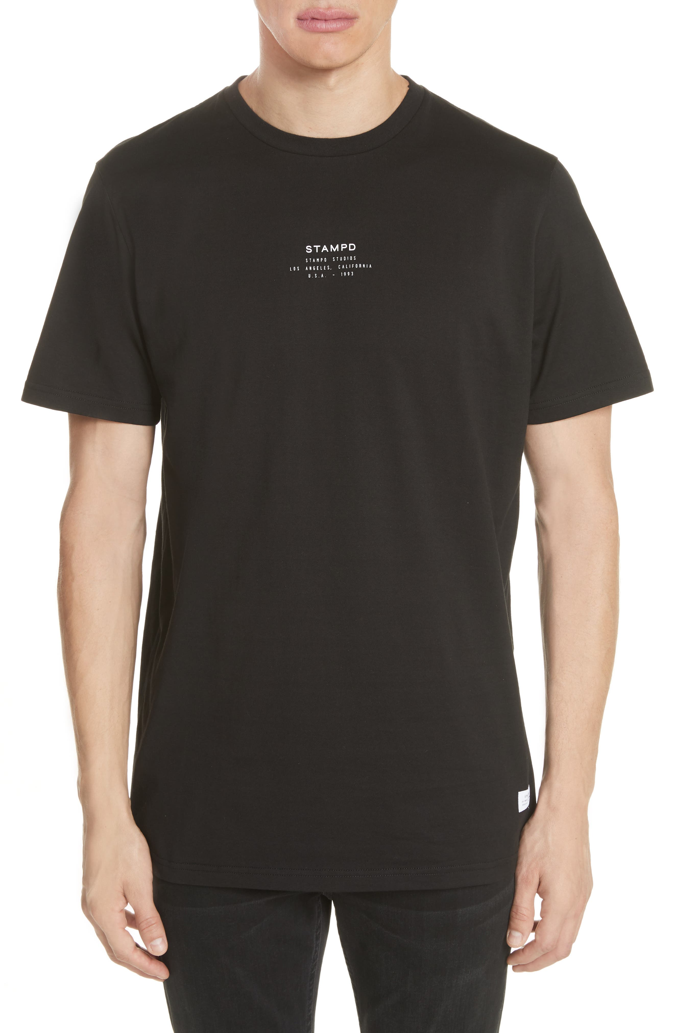 STAMPD Stacked Stamp Graphic T-Shirt