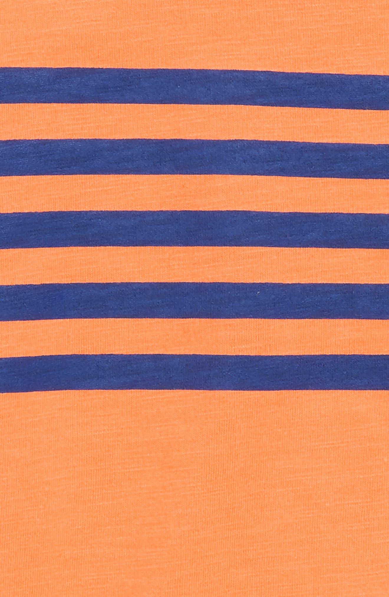 Washed T-Shirt,                             Alternate thumbnail 2, color,                             Klaxon Orange