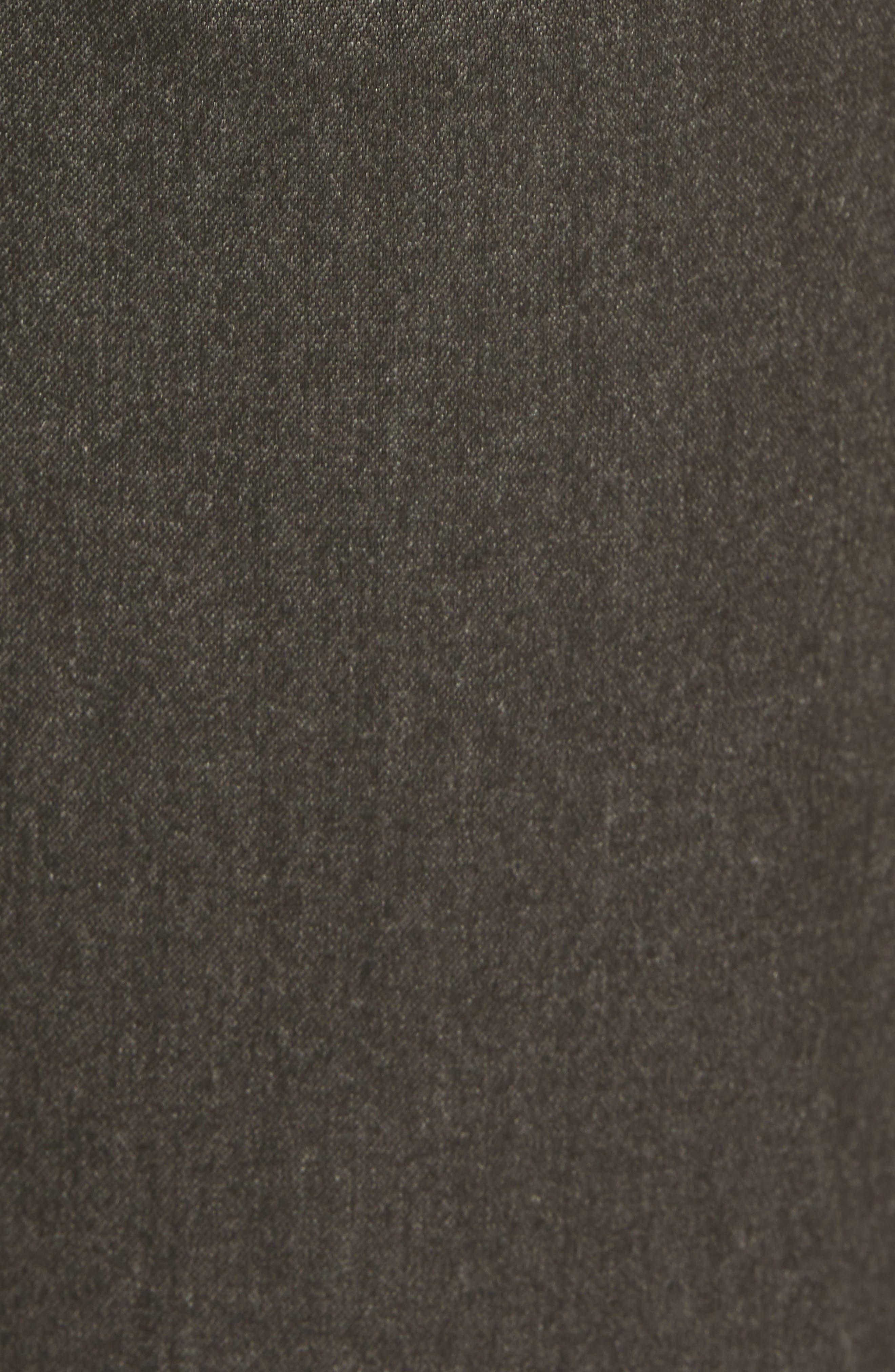 Champi Pleated Cropped Pants,                             Alternate thumbnail 5, color,                             Black