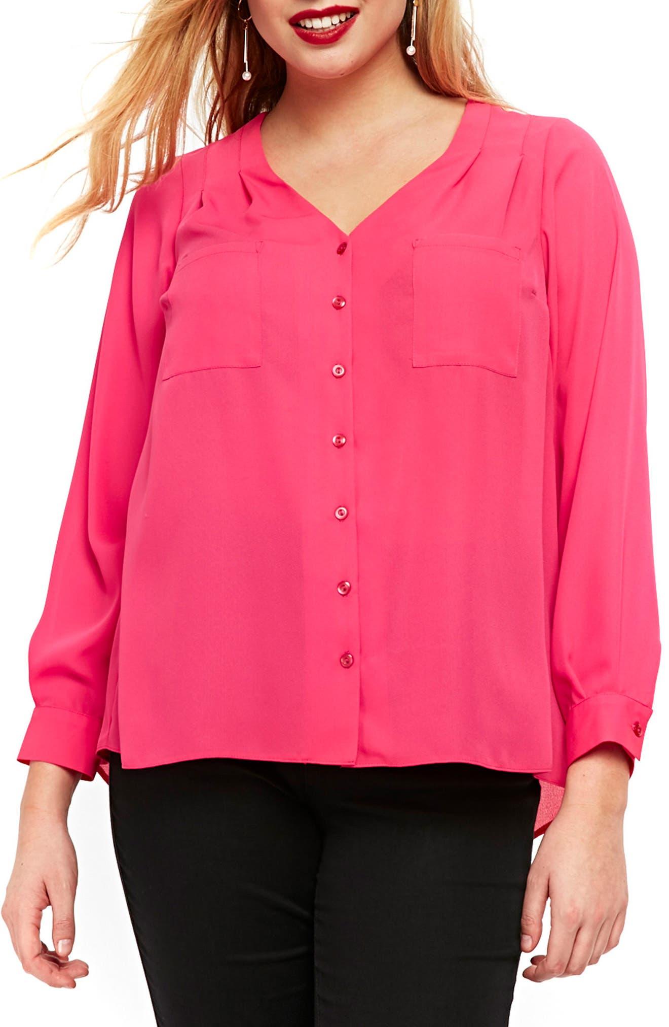 Cross Back Top,                         Main,                         color, Pink