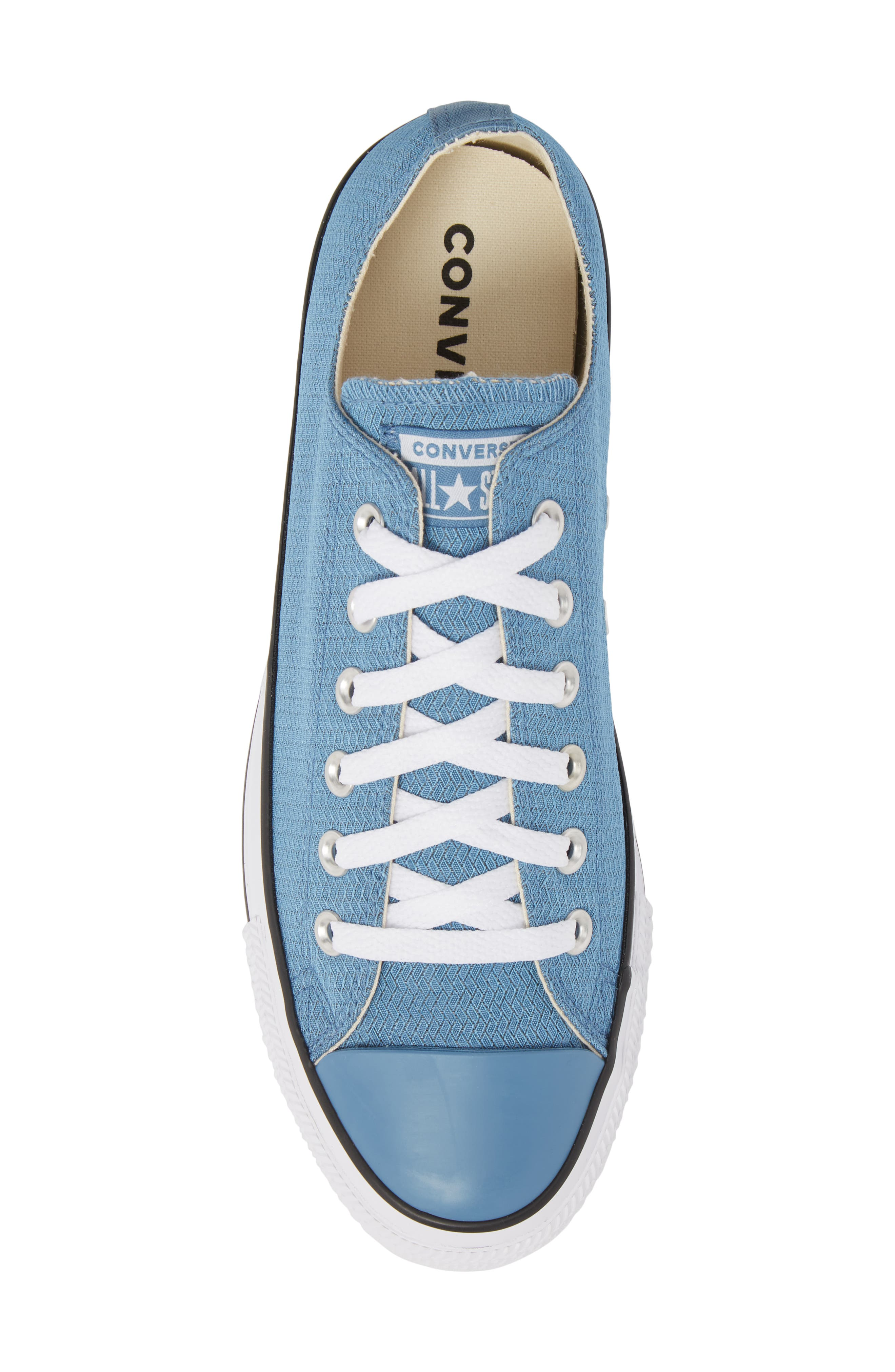 All Star<sup>®</sup> Ripstop Low Top Sneaker,                             Alternate thumbnail 5, color,                             Aegean Storm