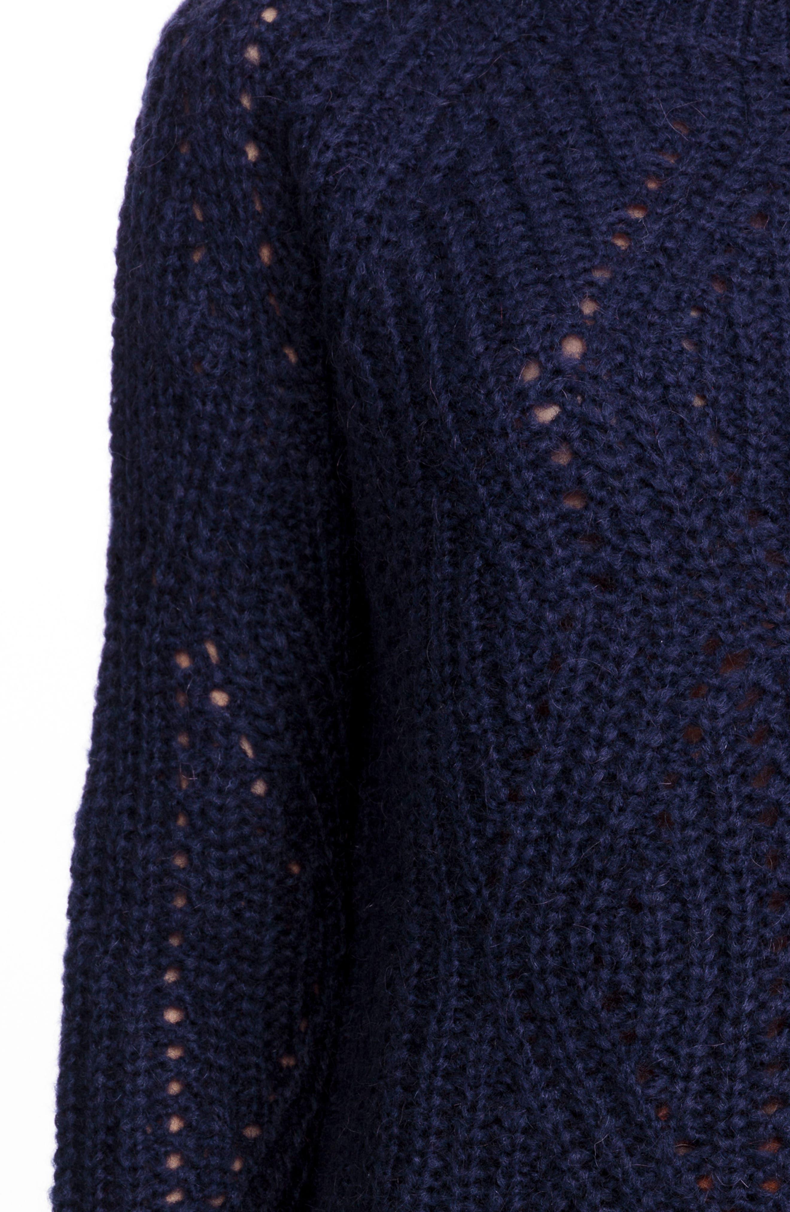 Sean Sweater,                             Alternate thumbnail 4, color,                             Marine