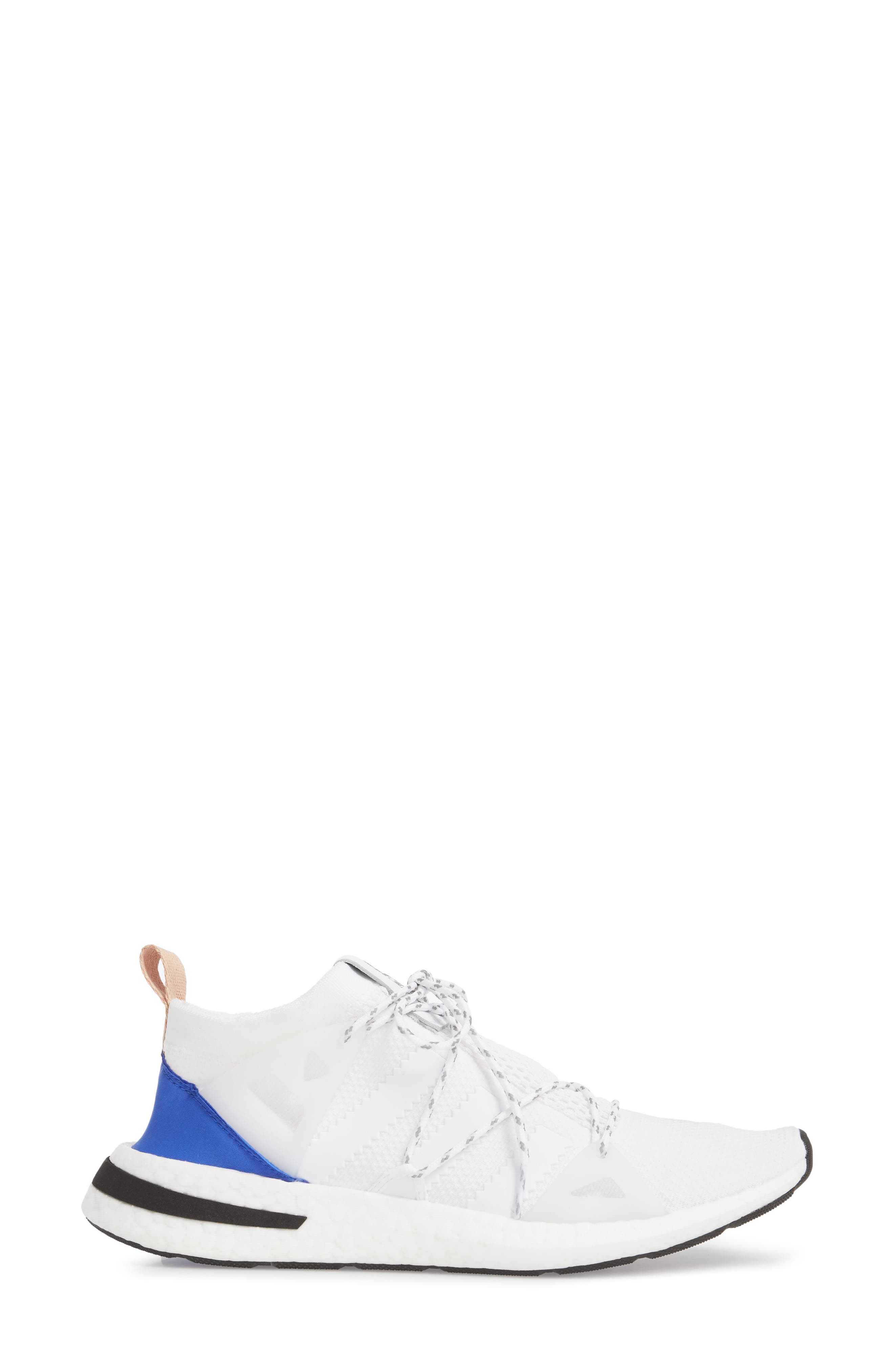 Arkyn Sneaker,                             Alternate thumbnail 3, color,                             White/ White/ Ash Pearl