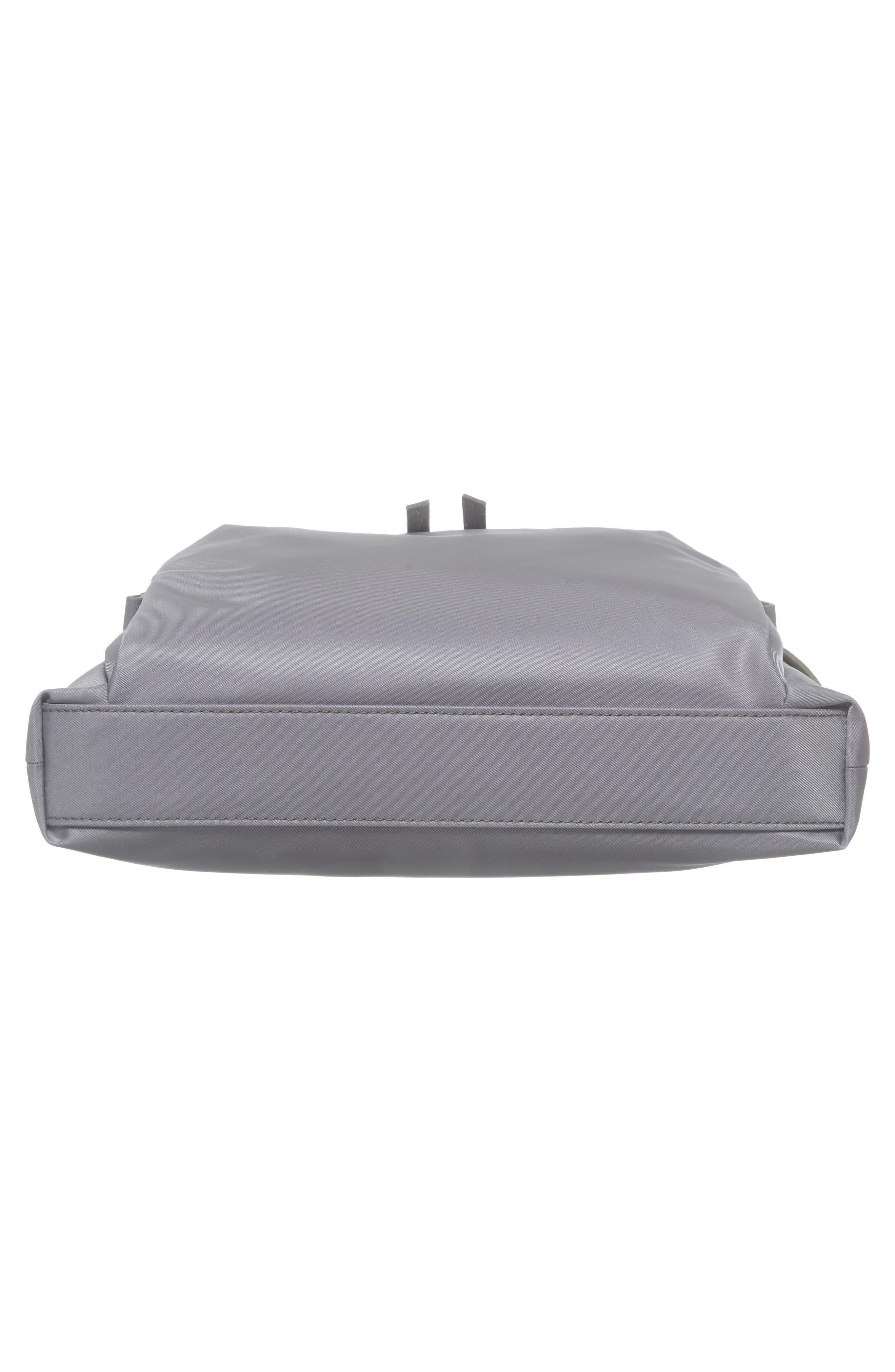 Voyager - Capri Nylon Crossbody Bag,                             Alternate thumbnail 6, color,                             Grey