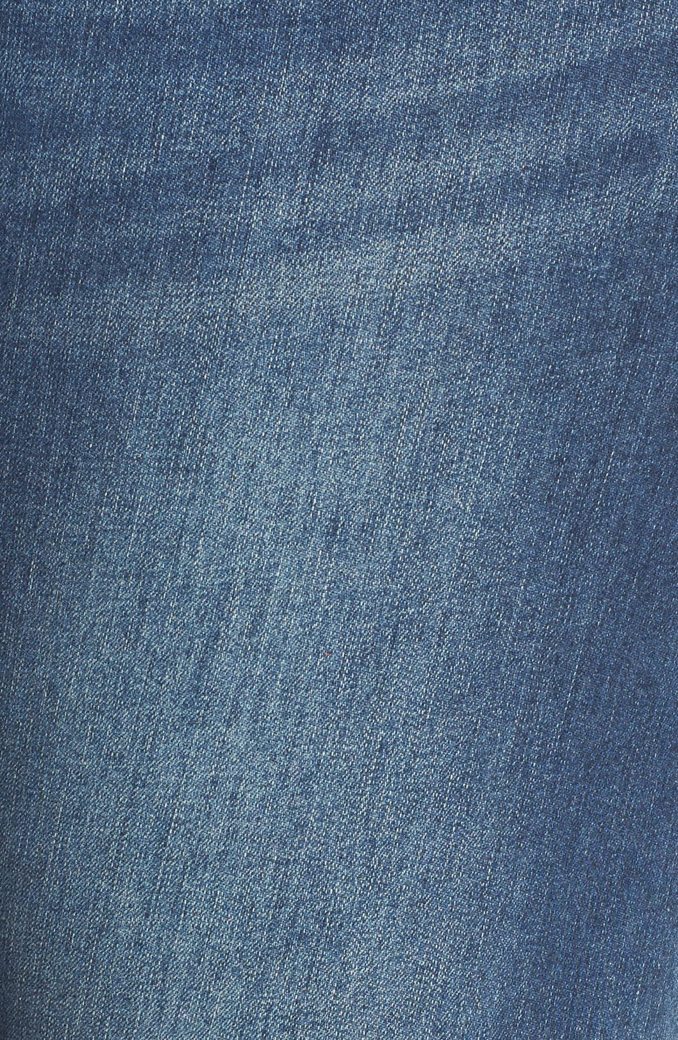 Seamless Ankle Skimmer Jeans,                             Alternate thumbnail 5, color,                             Blue