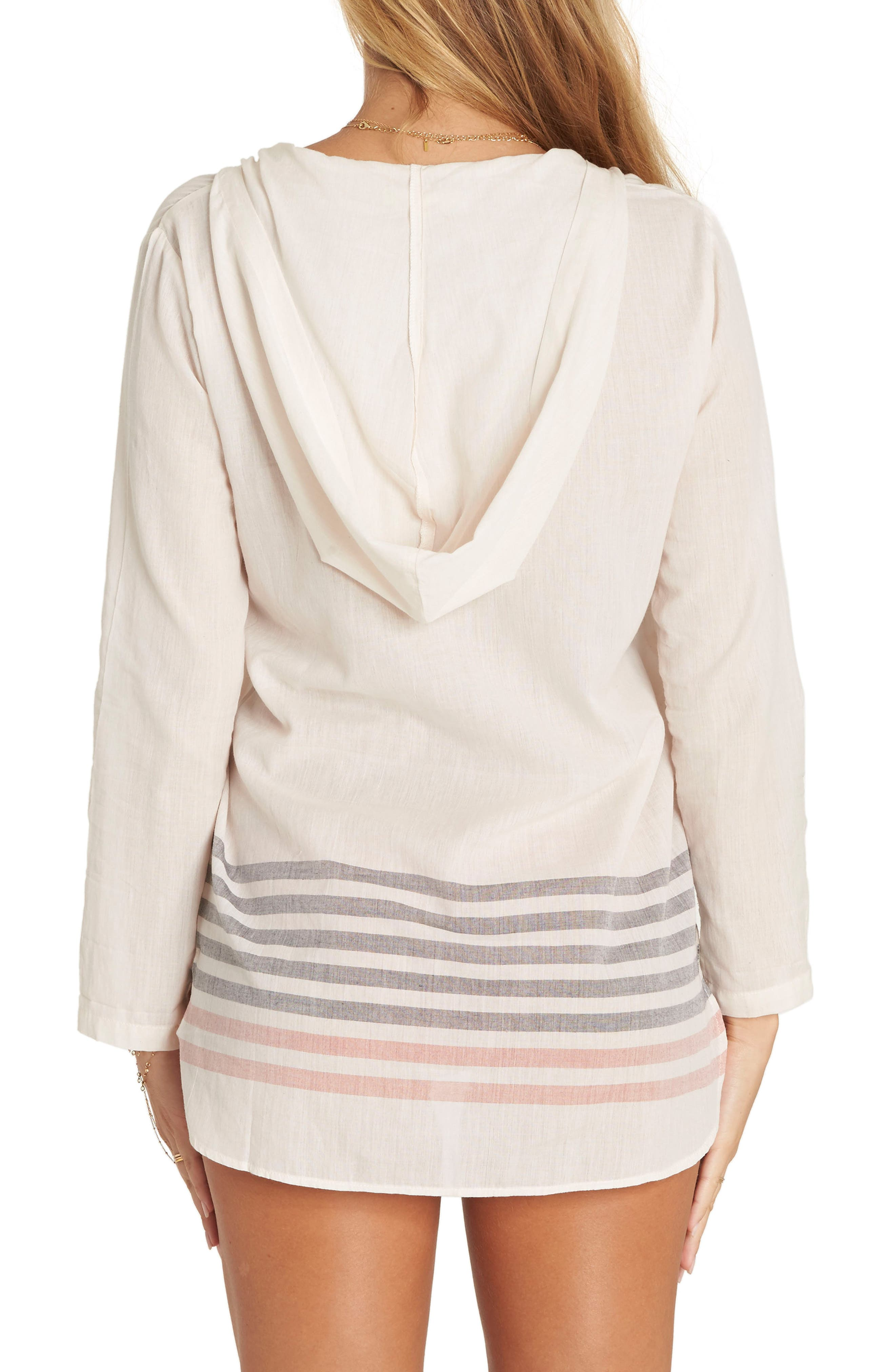 Same Story Cover-Up Tunic,                             Alternate thumbnail 2, color,                             Ivory Multi