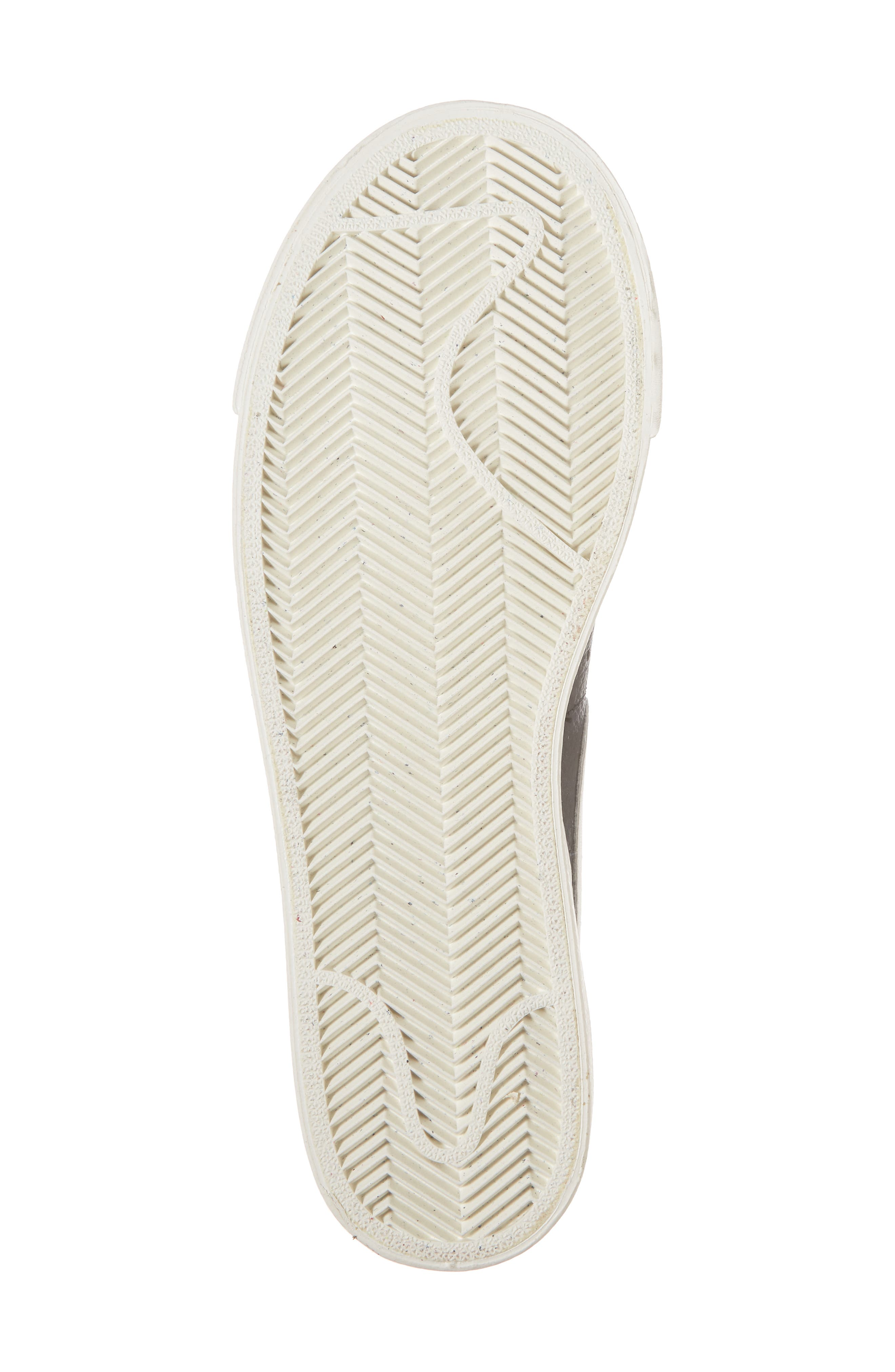 Blazer Premium Low Sneaker,                             Alternate thumbnail 6, color,                             Black/ White/ Black