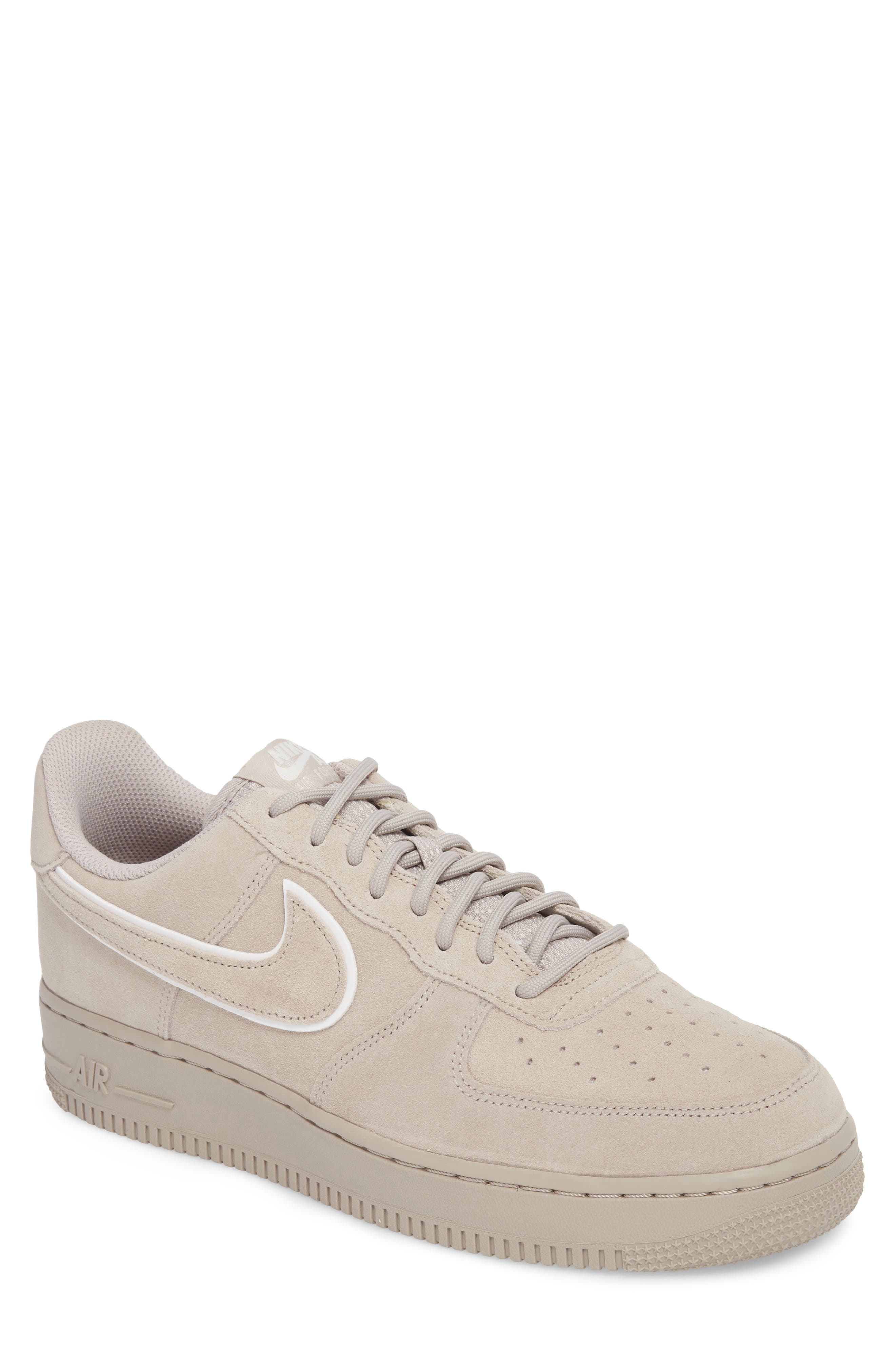 Air Force 1 '07 Low LV8 Sneaker,                             Main thumbnail 1, color,                             Moon Particle/ Sepia Stone