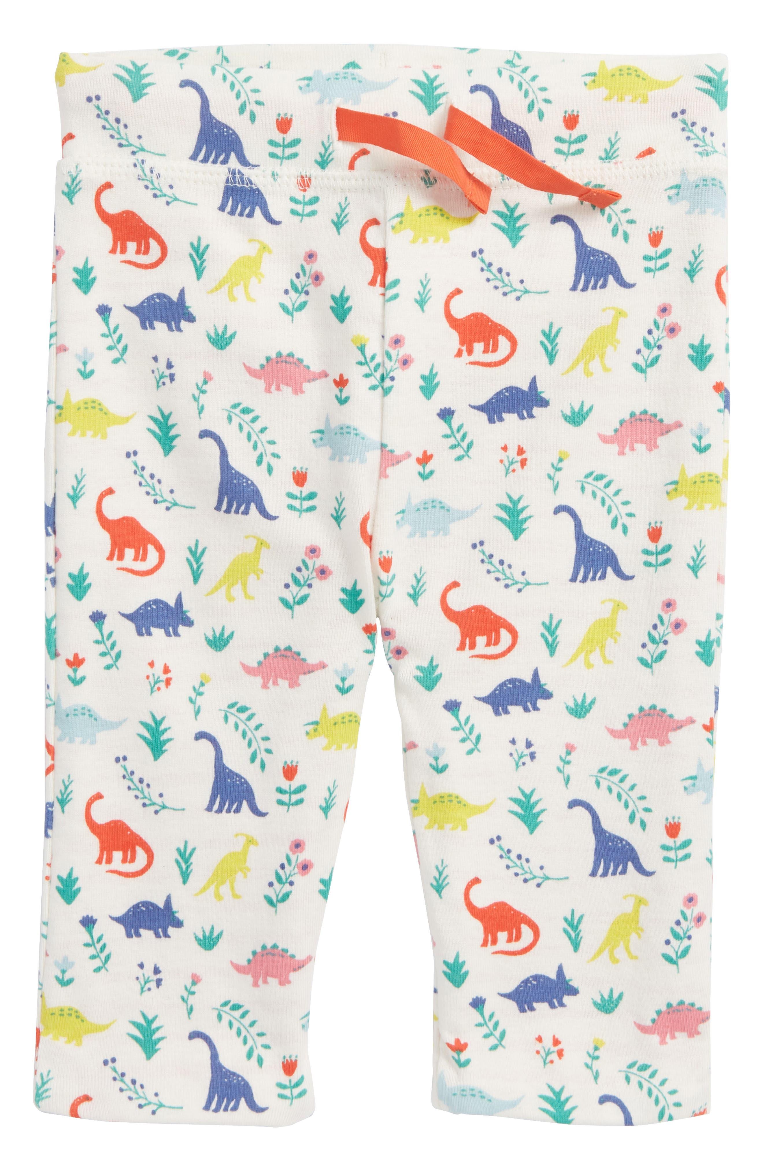 Reversible Print Pants,                             Main thumbnail 1, color,                             Multi Dino Floral