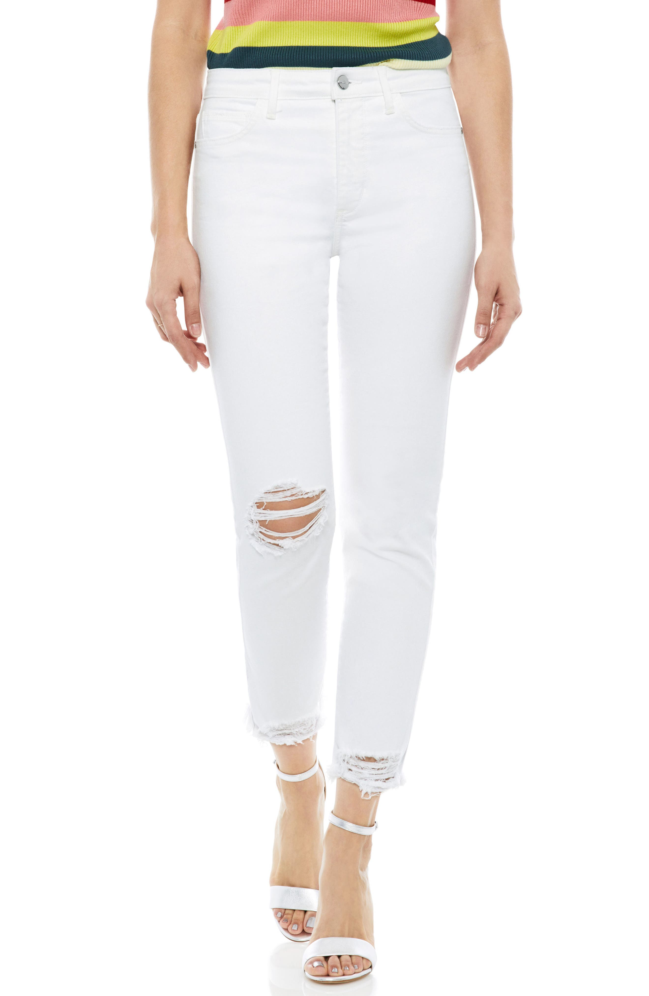 The Mary Jane Ankle Jeans,                         Main,                         color, Sammie