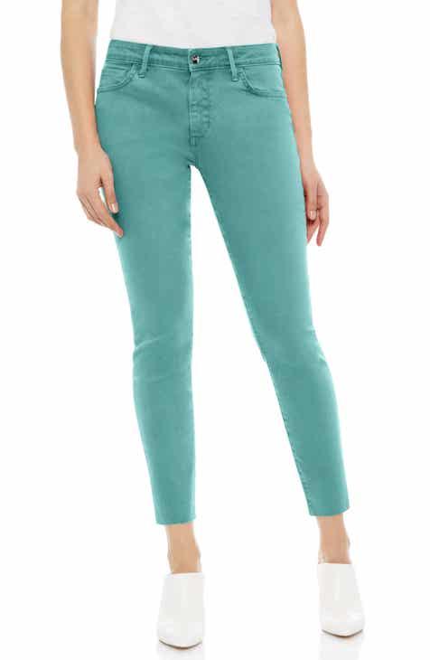 18f05c813c2 Sam Edelman The Kitten Raw Hem Skinny Jeans