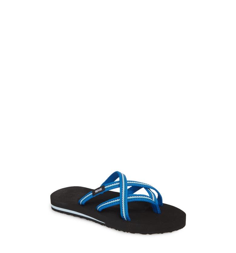 cc29653f827209 Teva  Olowahu  Sandal In Lindi Blue Fabric