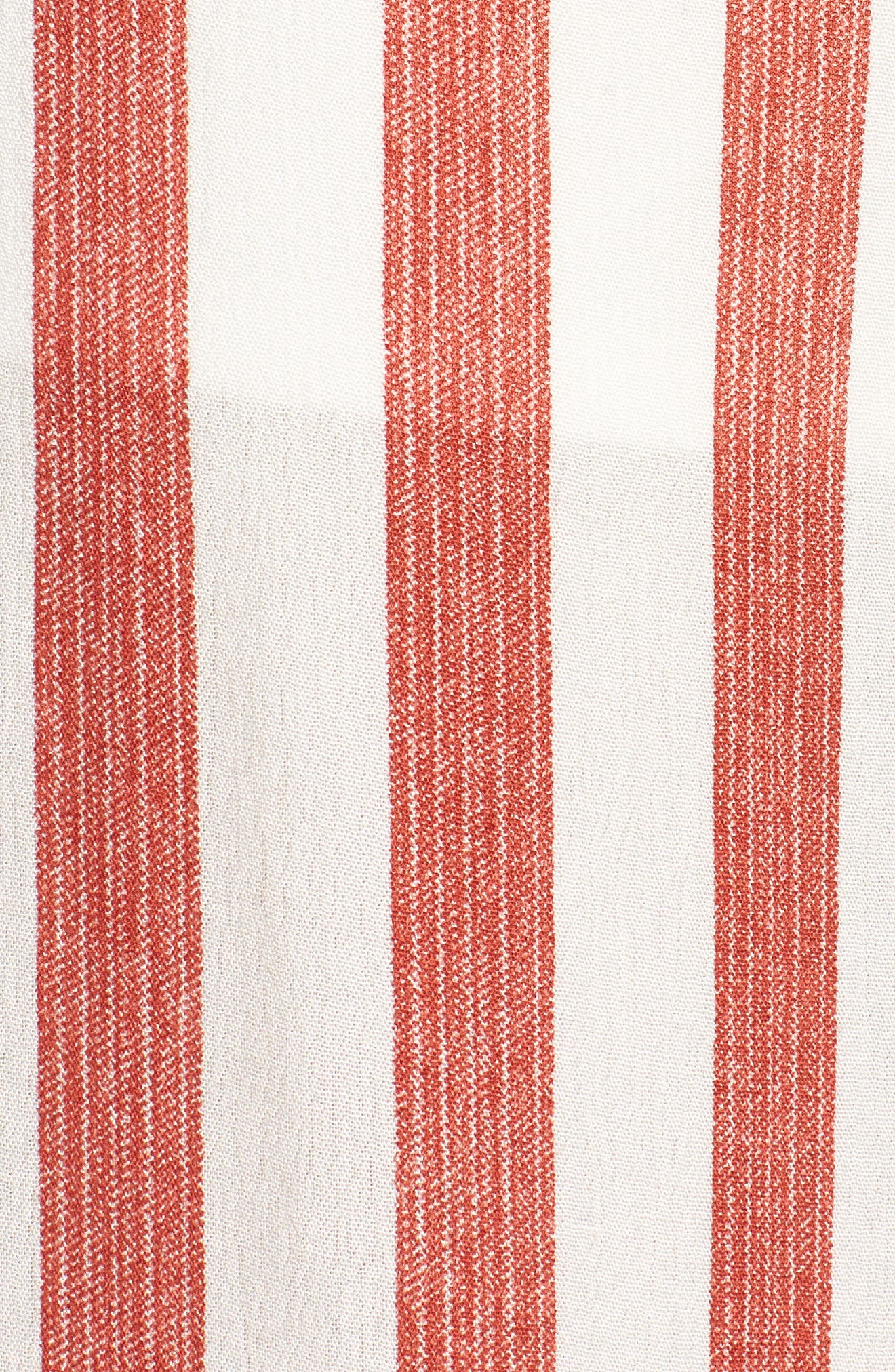 Stripe Culottes,                             Alternate thumbnail 7, color,                             Red/ Ivory