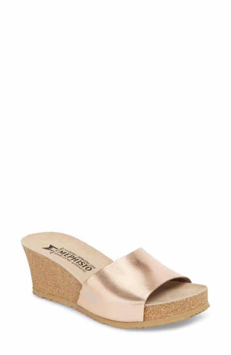 326a7a5f14772 Mephisto Lise Platform Wedge Sandal (Women)