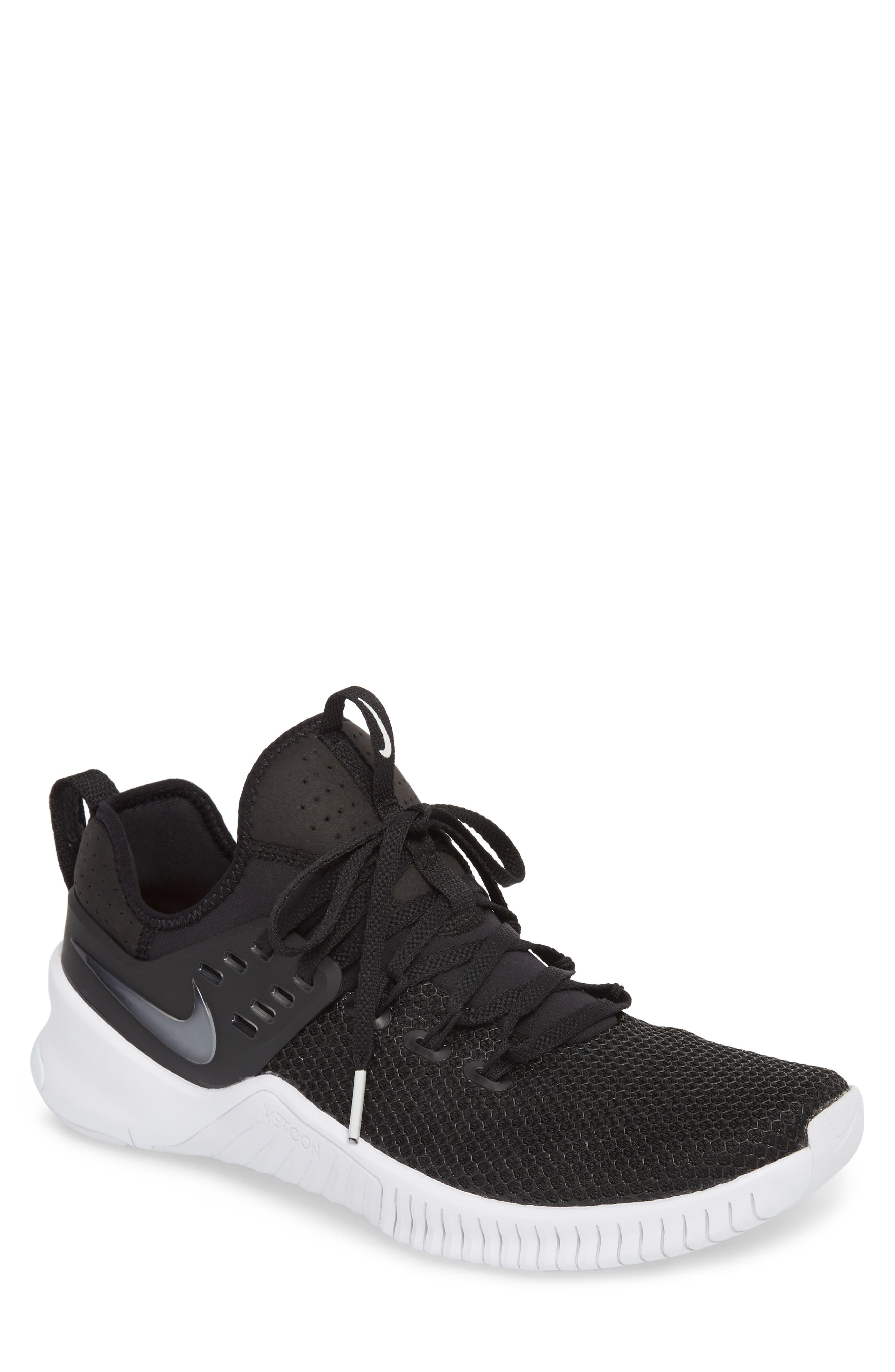 3141421a25d0 Nike Men S Free Metcon Training Sneakers From Finish Line In Black ...