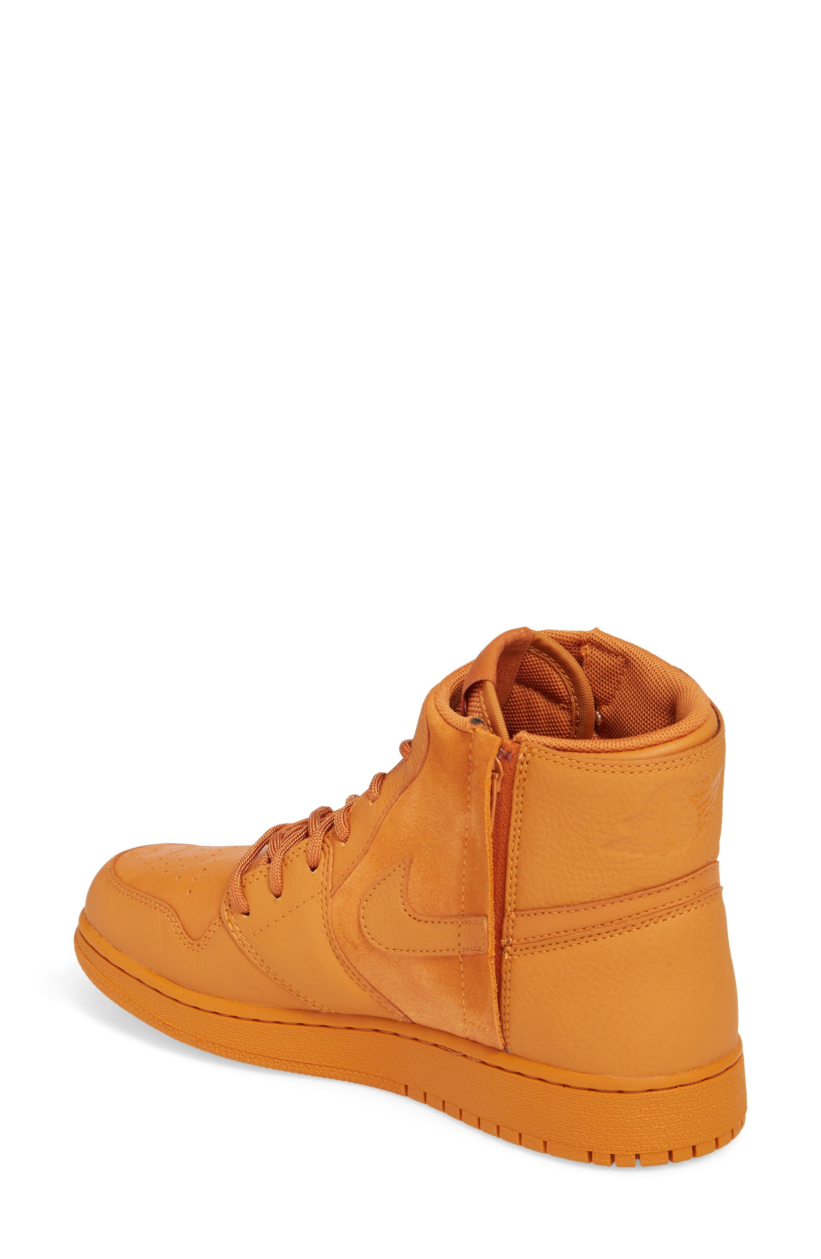 Air Jordan 1 Rebel XX High Top Sneaker,                             Alternate thumbnail 2, color,                             Cinder Orange