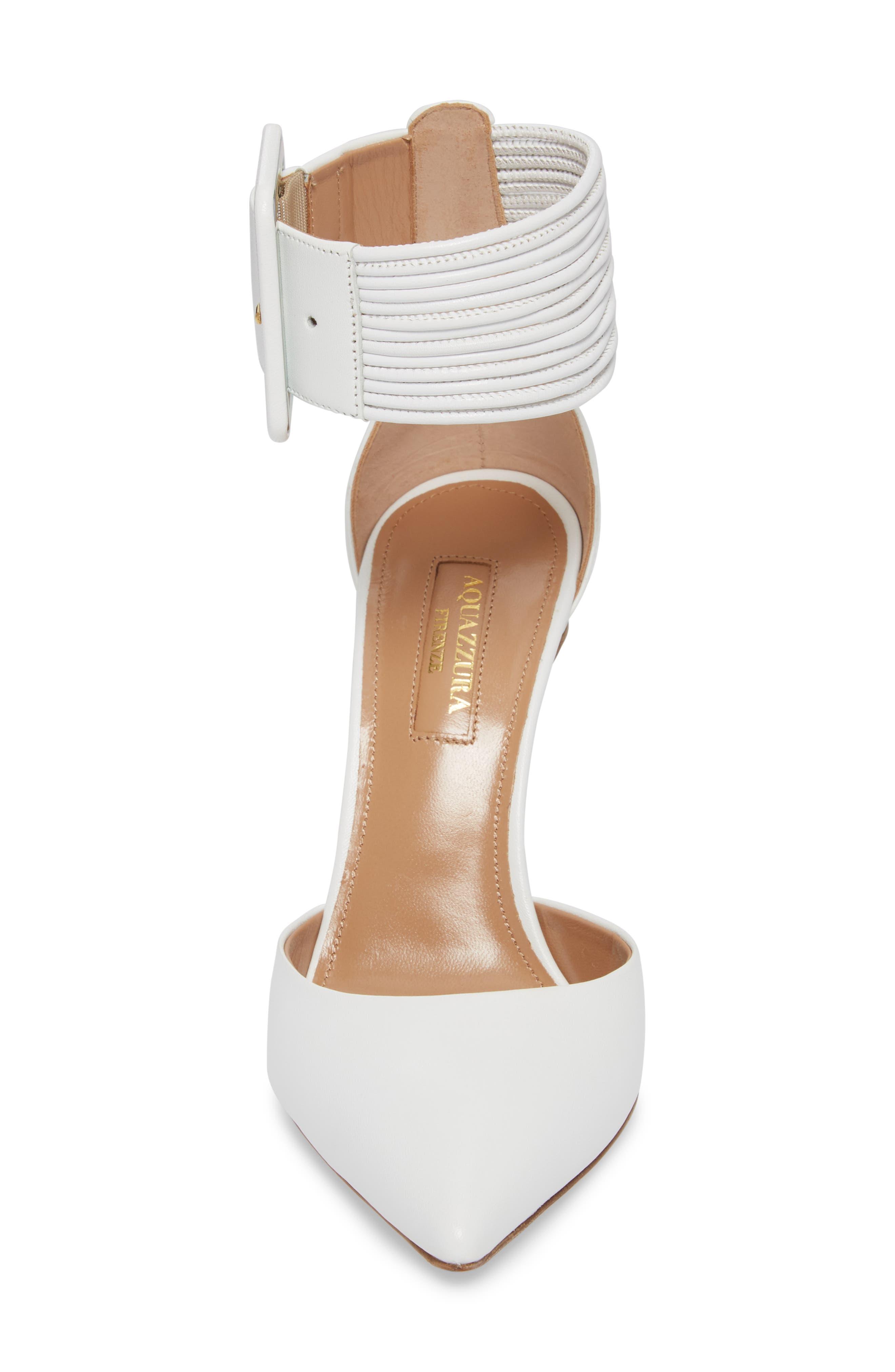 Alternate Image 4  - Aquazzura Casablanca Ankle Cuff Pump (Women)
