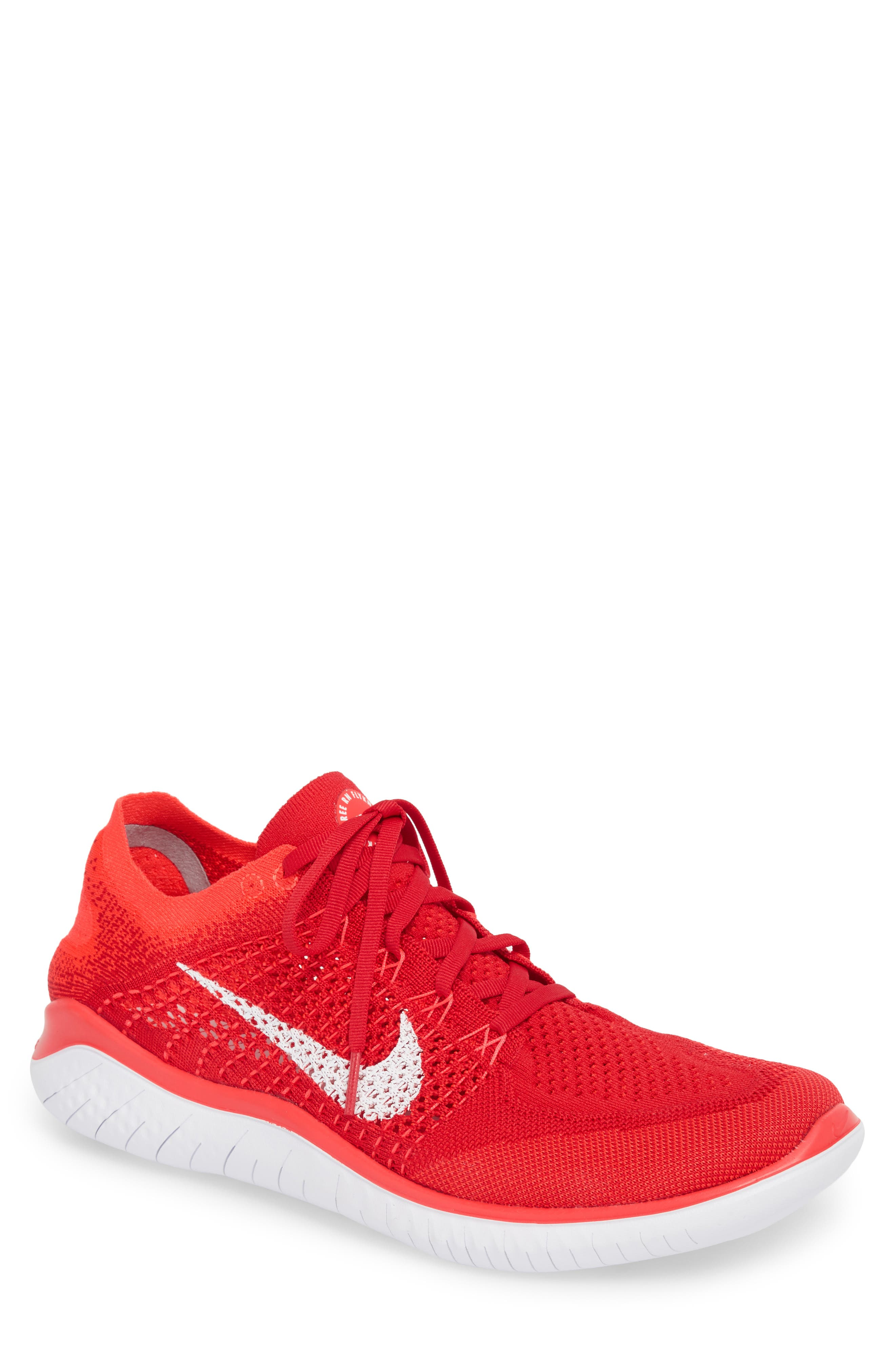 Nike Free RN Flyknit 2018 Running Shoe (Men)