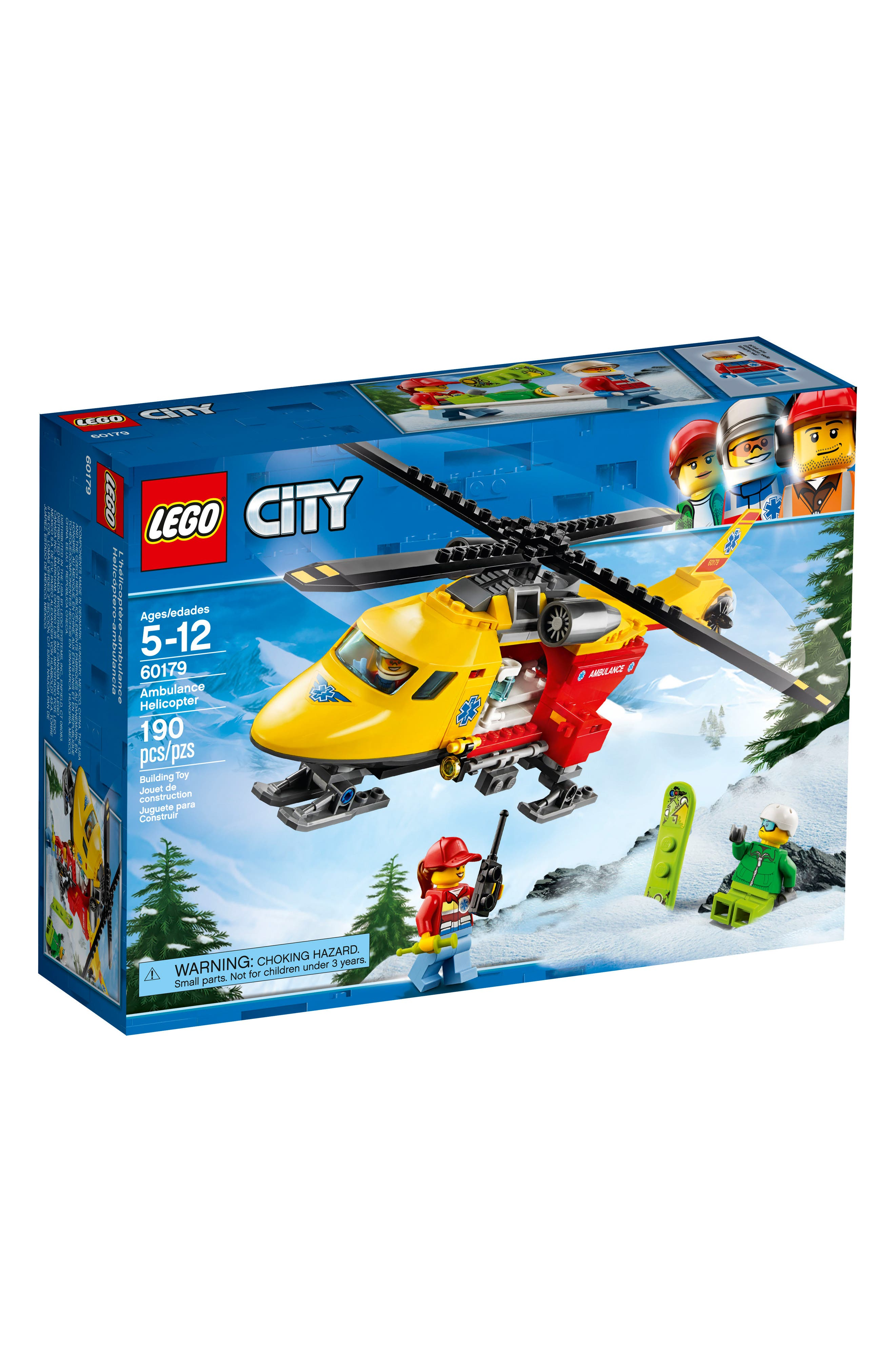 LEGO<sup>™</sup> City Ambulance Helicopter - 60179,                             Main thumbnail 1, color,                             Multi
