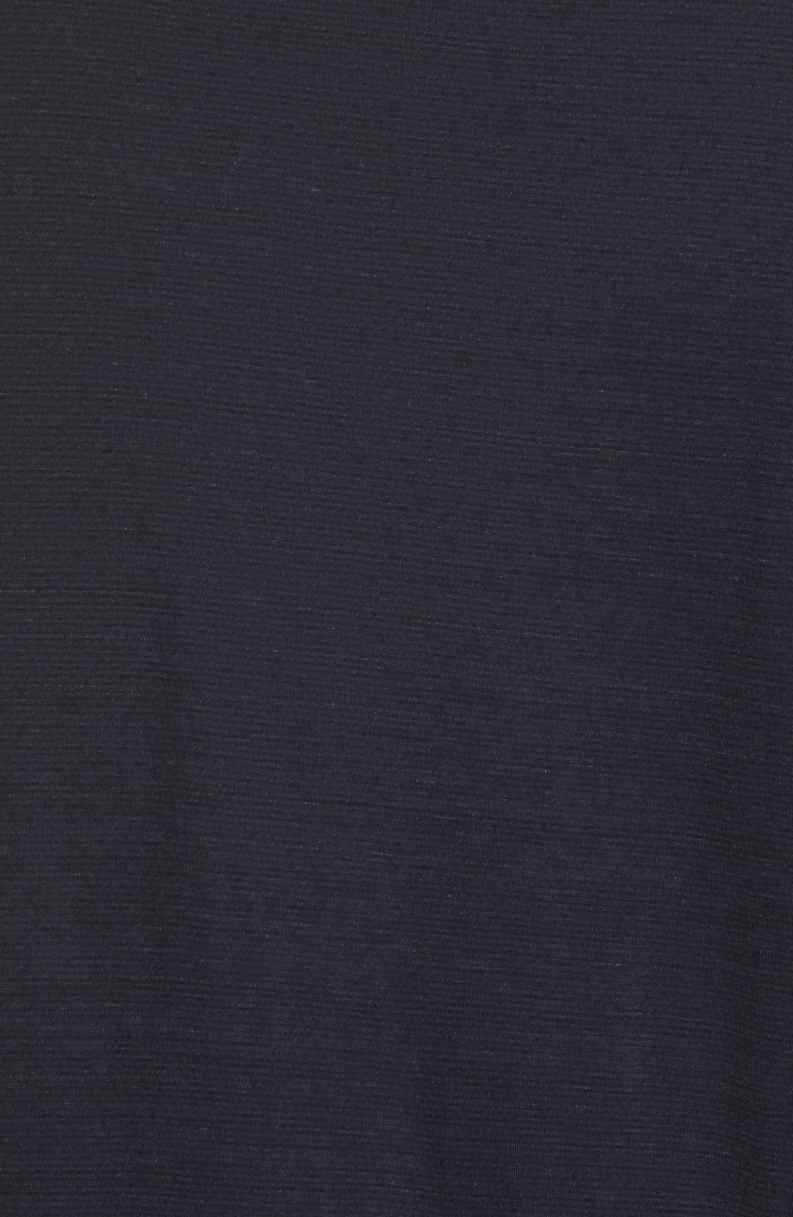 Merino 150 Wool Blend T-Shirt,                             Alternate thumbnail 5, color,                             Charcoal