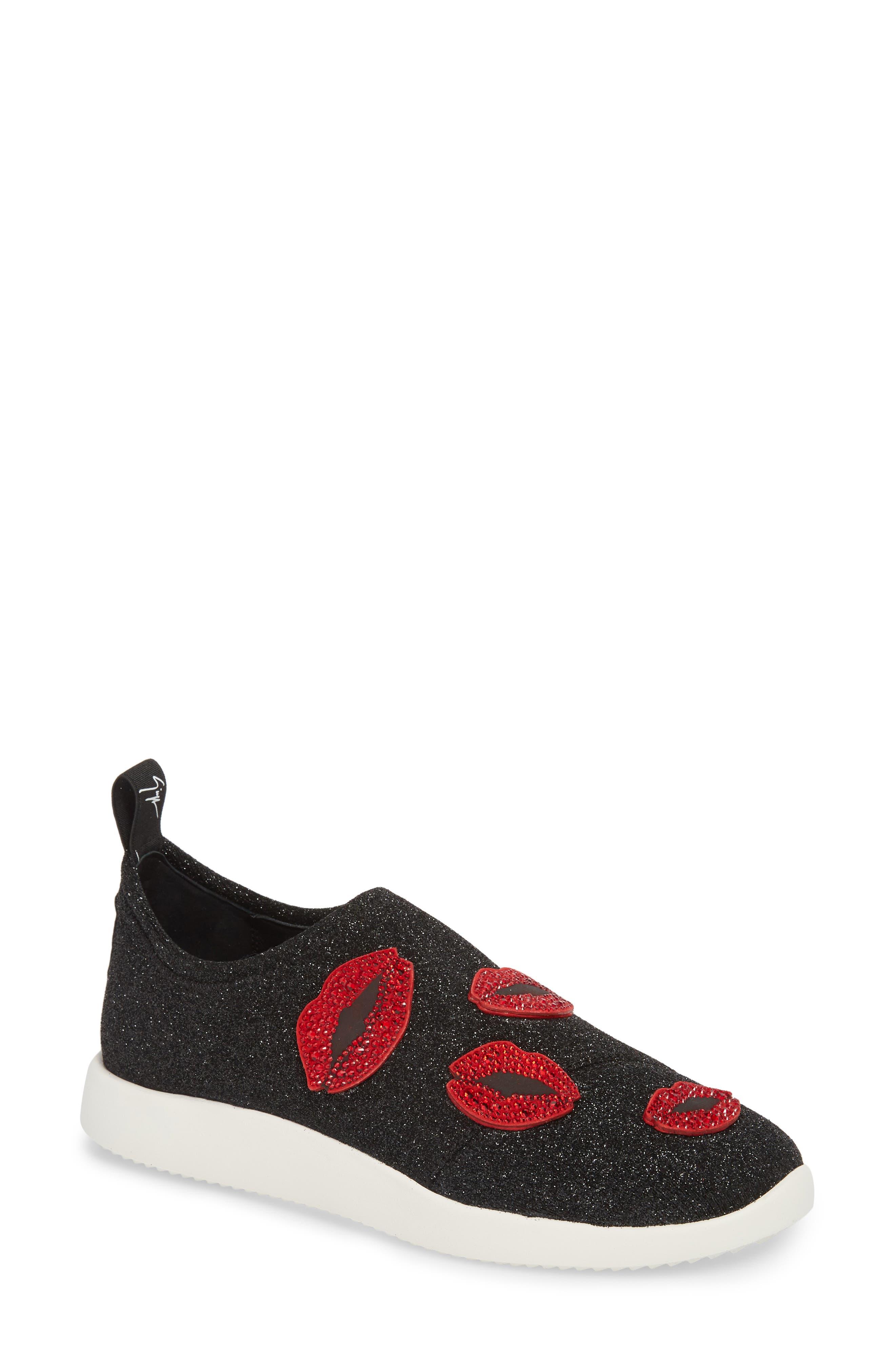 Giuseppe Zanotti Women's Lips Slip-On Sneaker D61GKfm