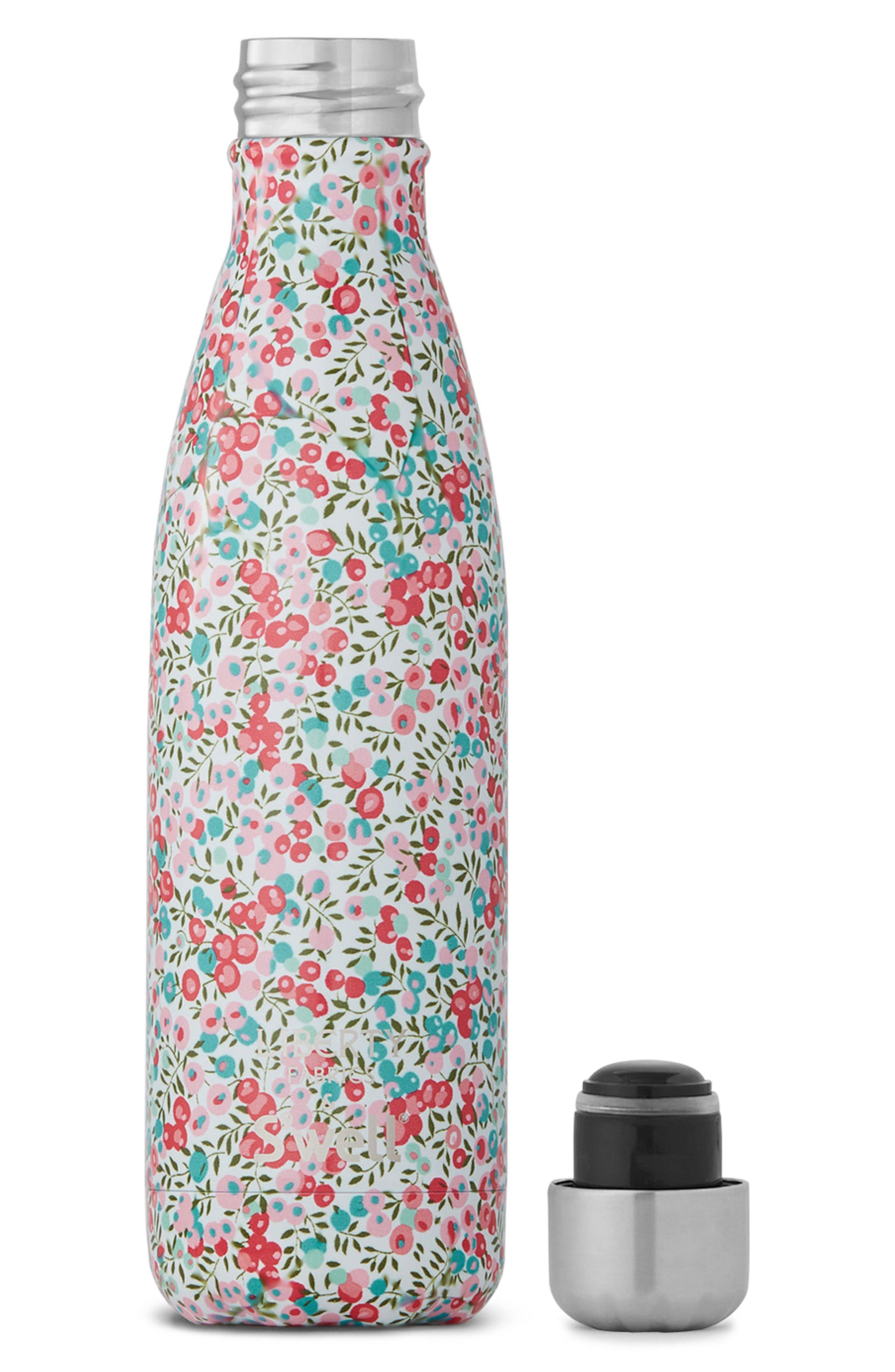 Liberty Fabrics Wiltshire Stainless Steel Water Bottle,                             Alternate thumbnail 3, color,                             Wiltshire