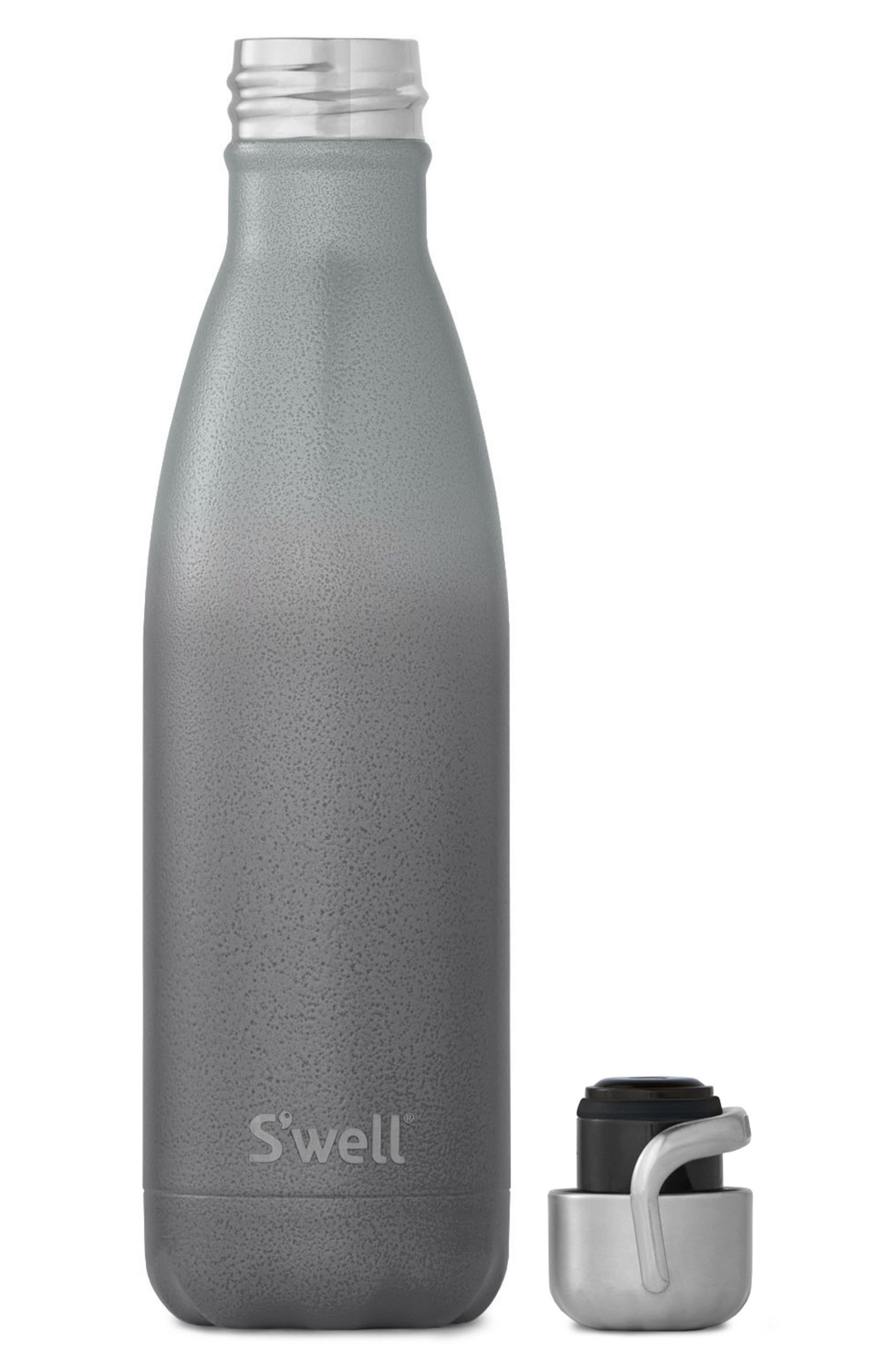 Zeus Stainless Steel Water Bottle with Sport Cap,                             Alternate thumbnail 2, color,                             Zeus