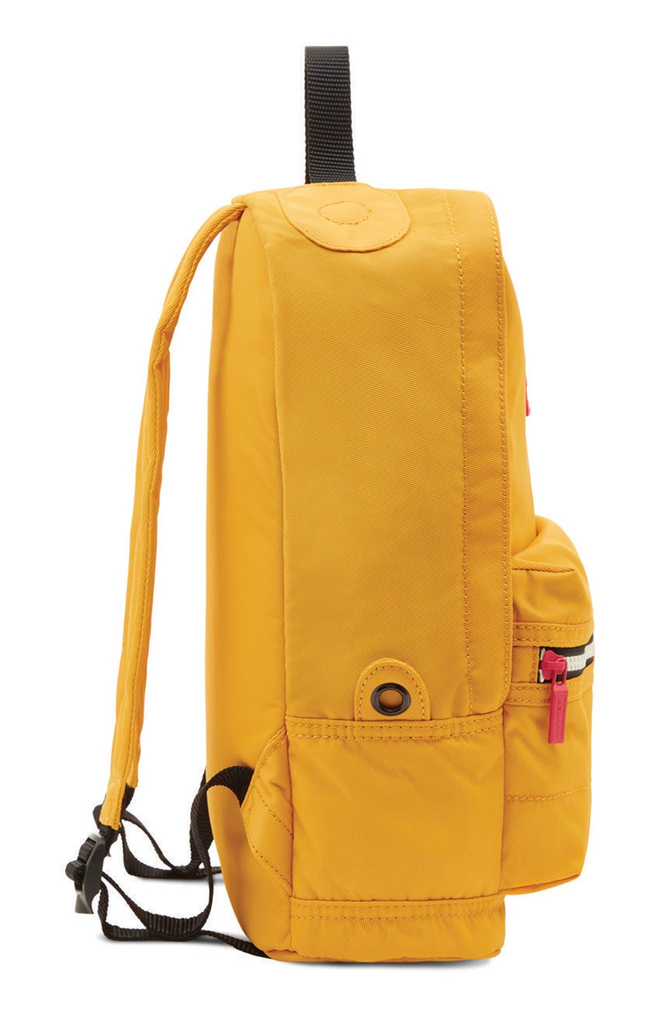 Original Water Resistant Nylon Backpack,                             Alternate thumbnail 5, color,                             Yellow