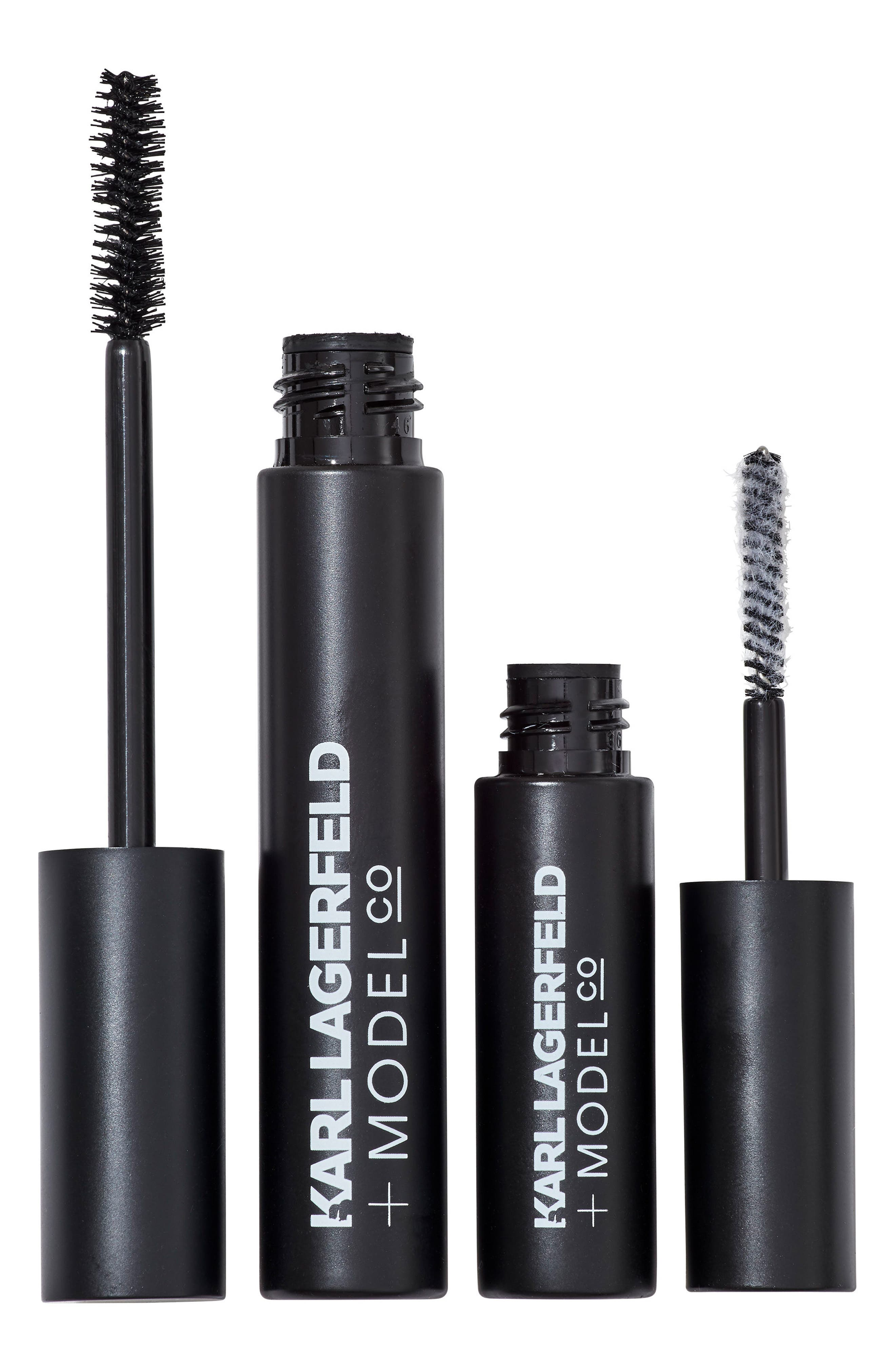 KARL LAGERFELD + MODELCO Kiss Me Karl Fibre Lash Brush-On False Lashes Set (Nordstrom Exclusive)