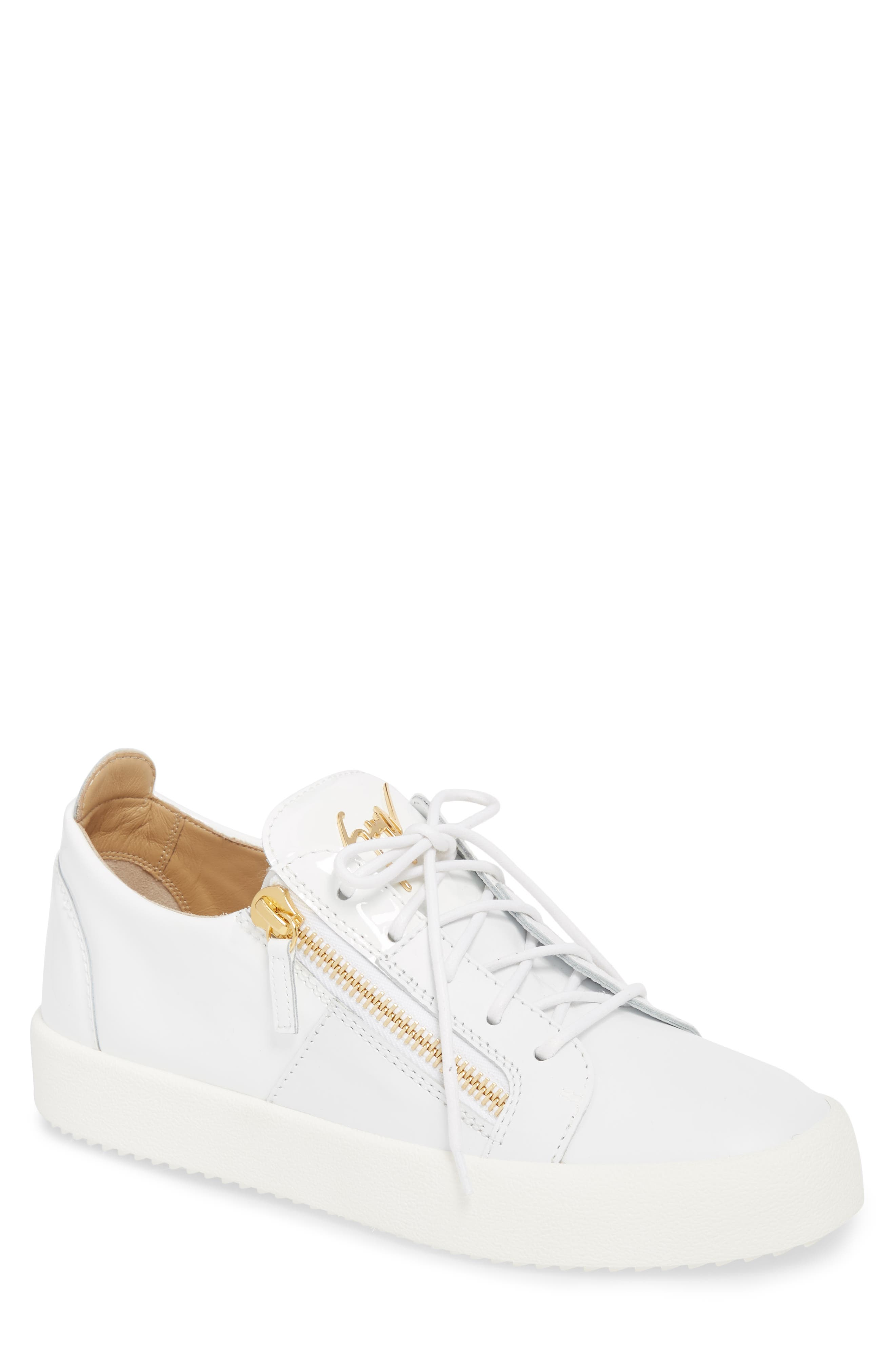 Giuseppe Zanotti Colorblocked Zip Sneaker (Men)