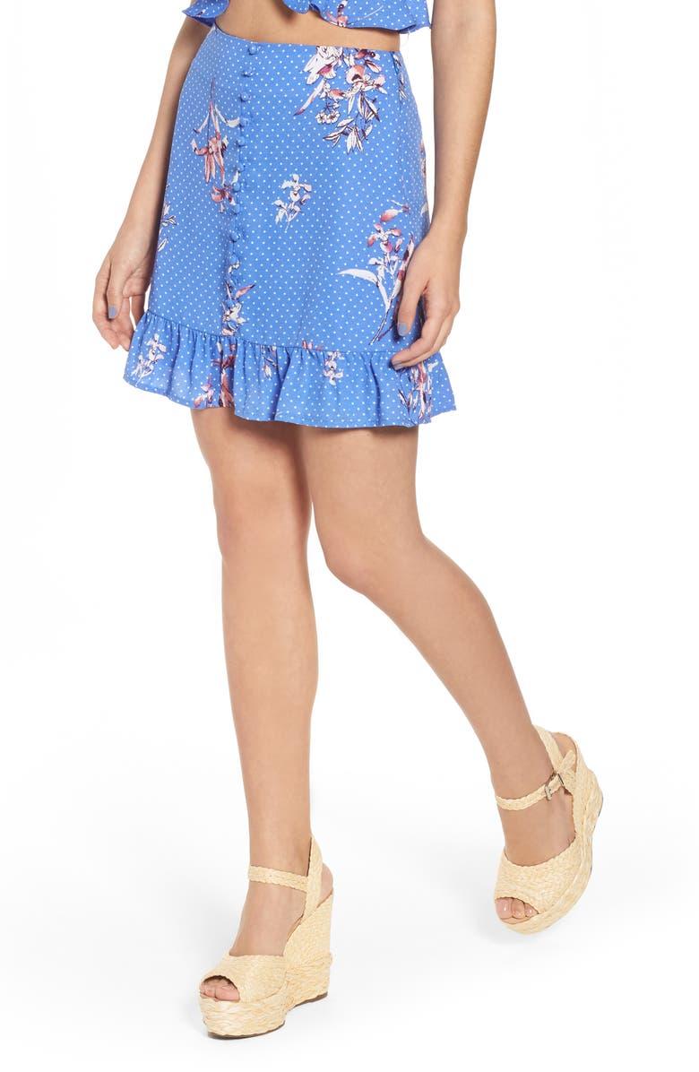 Vanessa Ruffle Hem Skirt