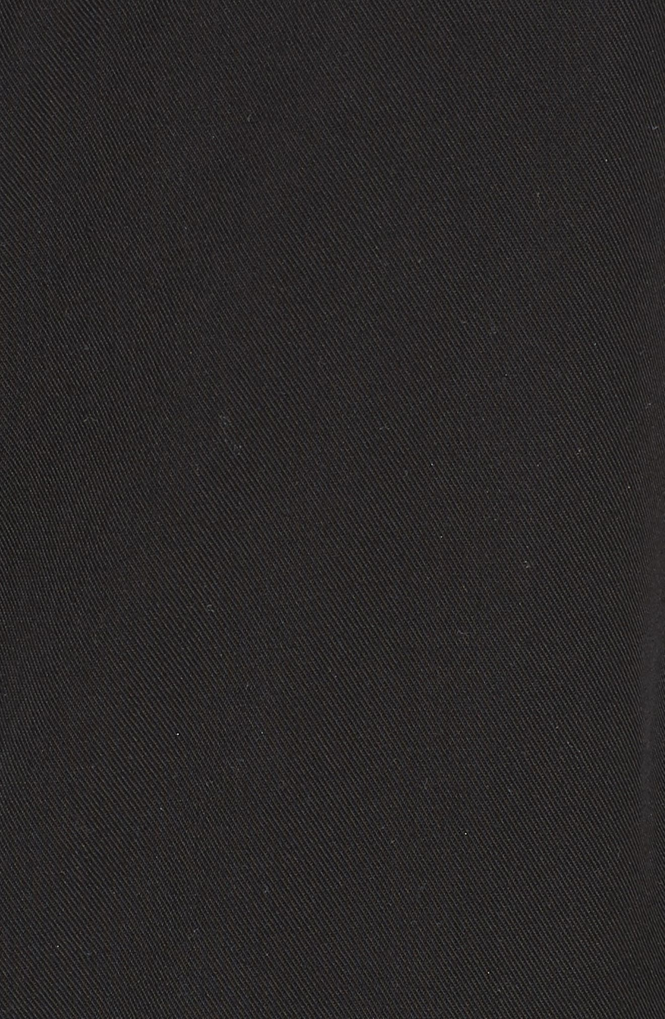 In Tents Pinafore Dress,                             Alternate thumbnail 5, color,                             Black