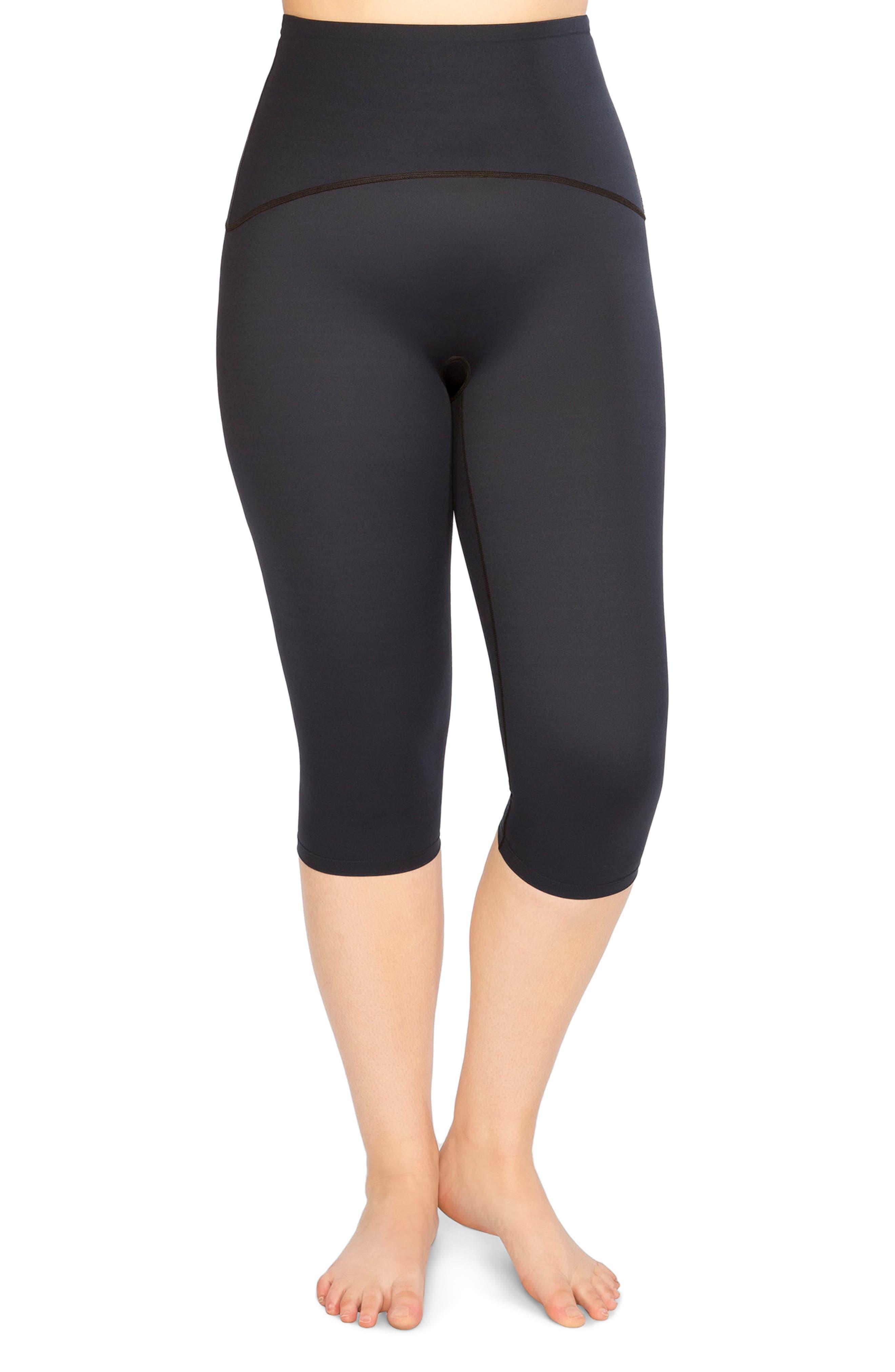 Active Knee-Length Leggings,                         Main,                         color, Lapis Night