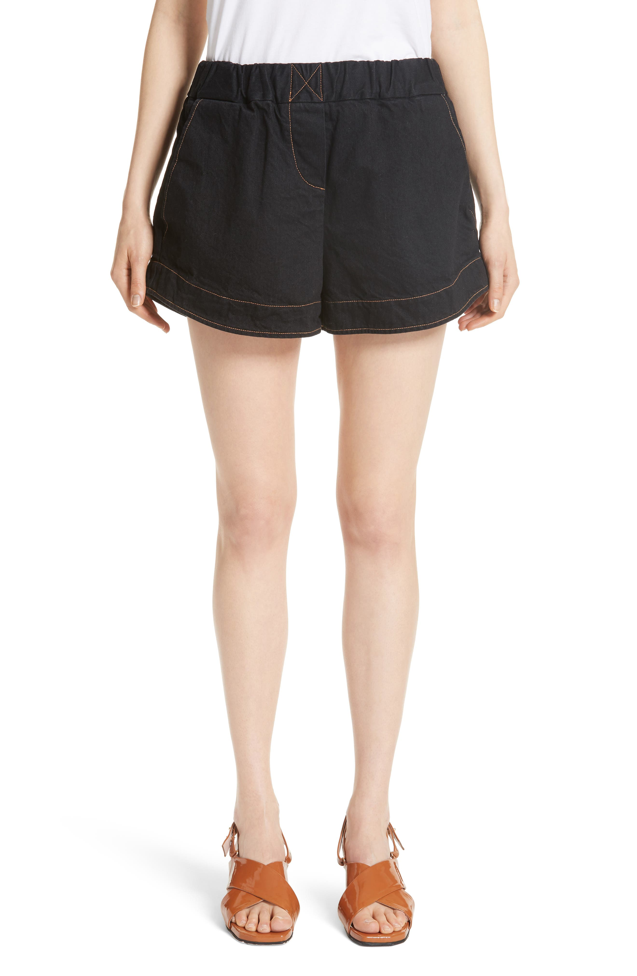 Simon Miller Nyssa Denim Shorts