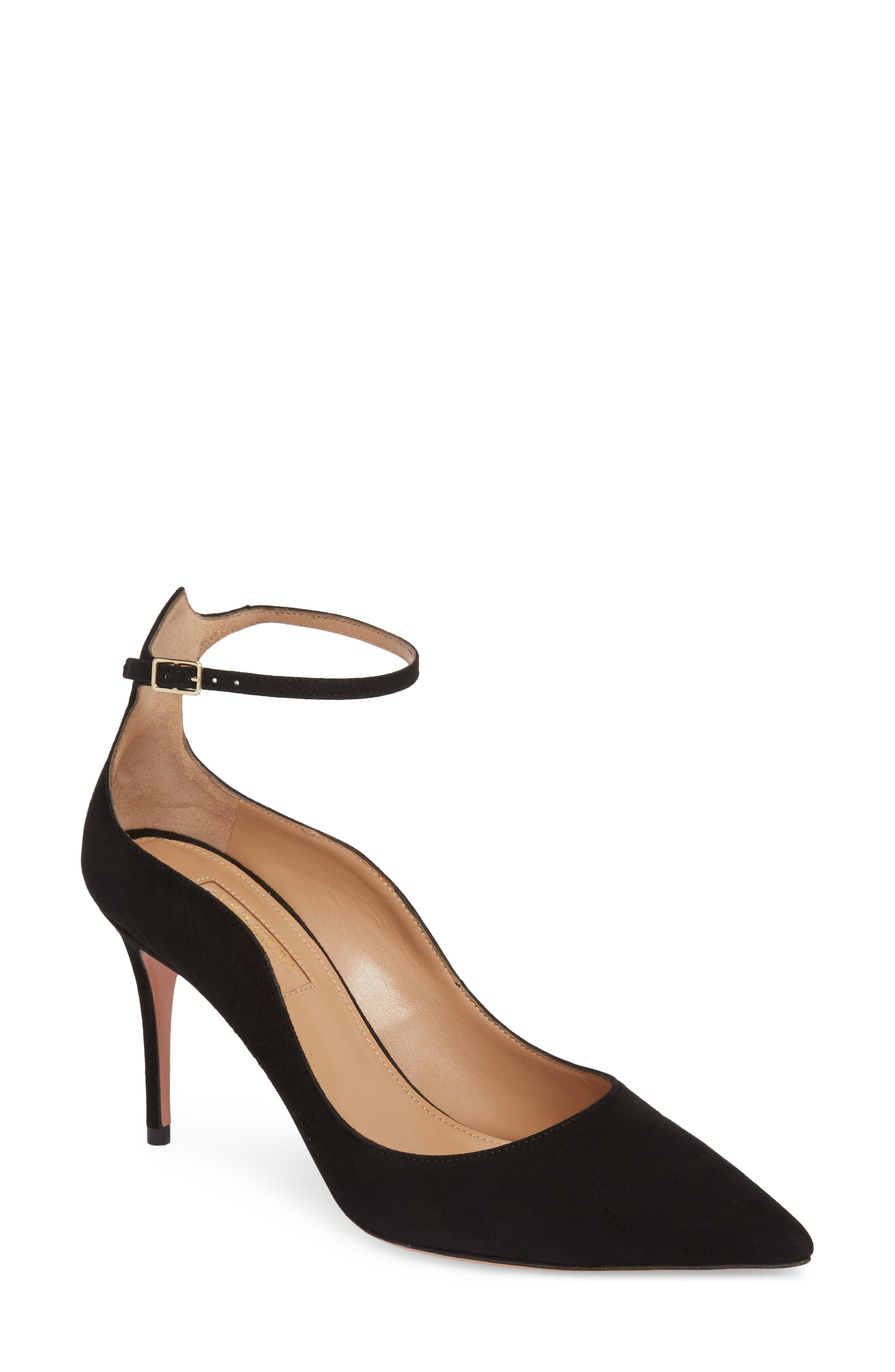 Dolce Vita Ankle Strap Pump,                         Main,                         color, Black