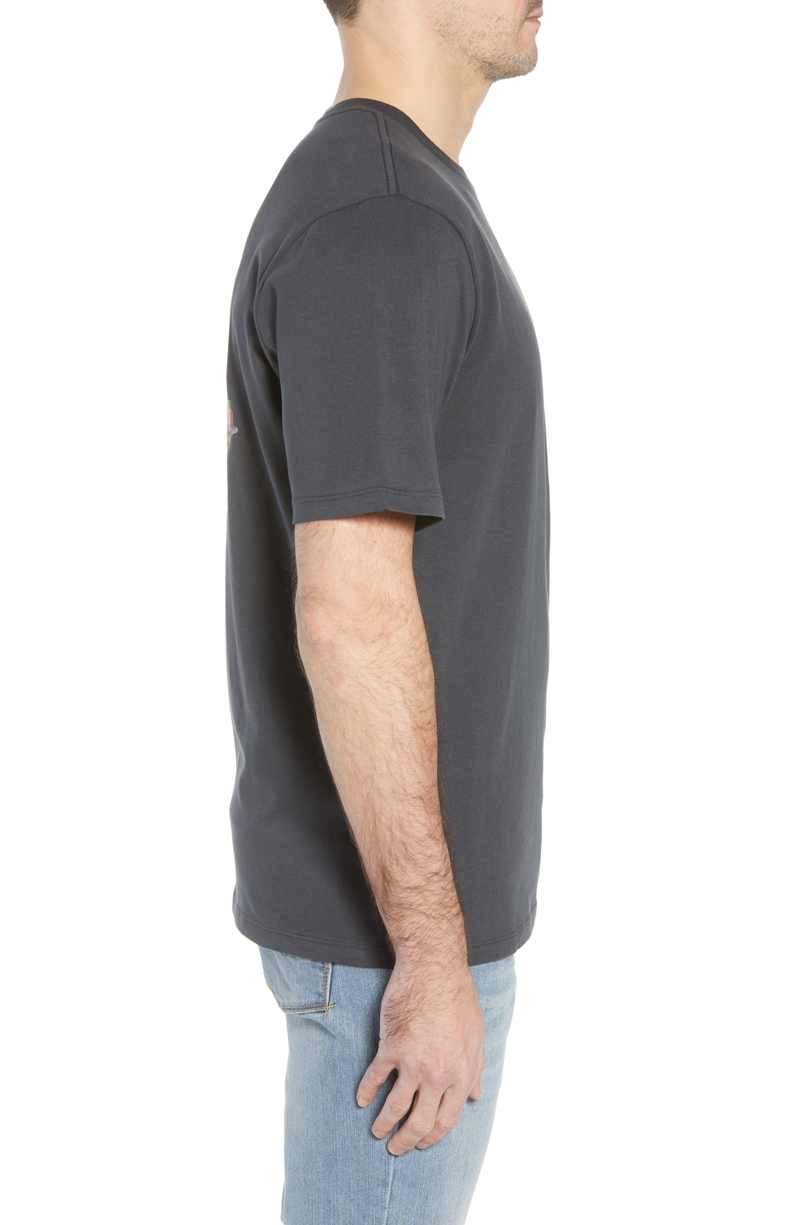 Grill of a Lifetime T-Shirt,                             Alternate thumbnail 3, color,                             Coal
