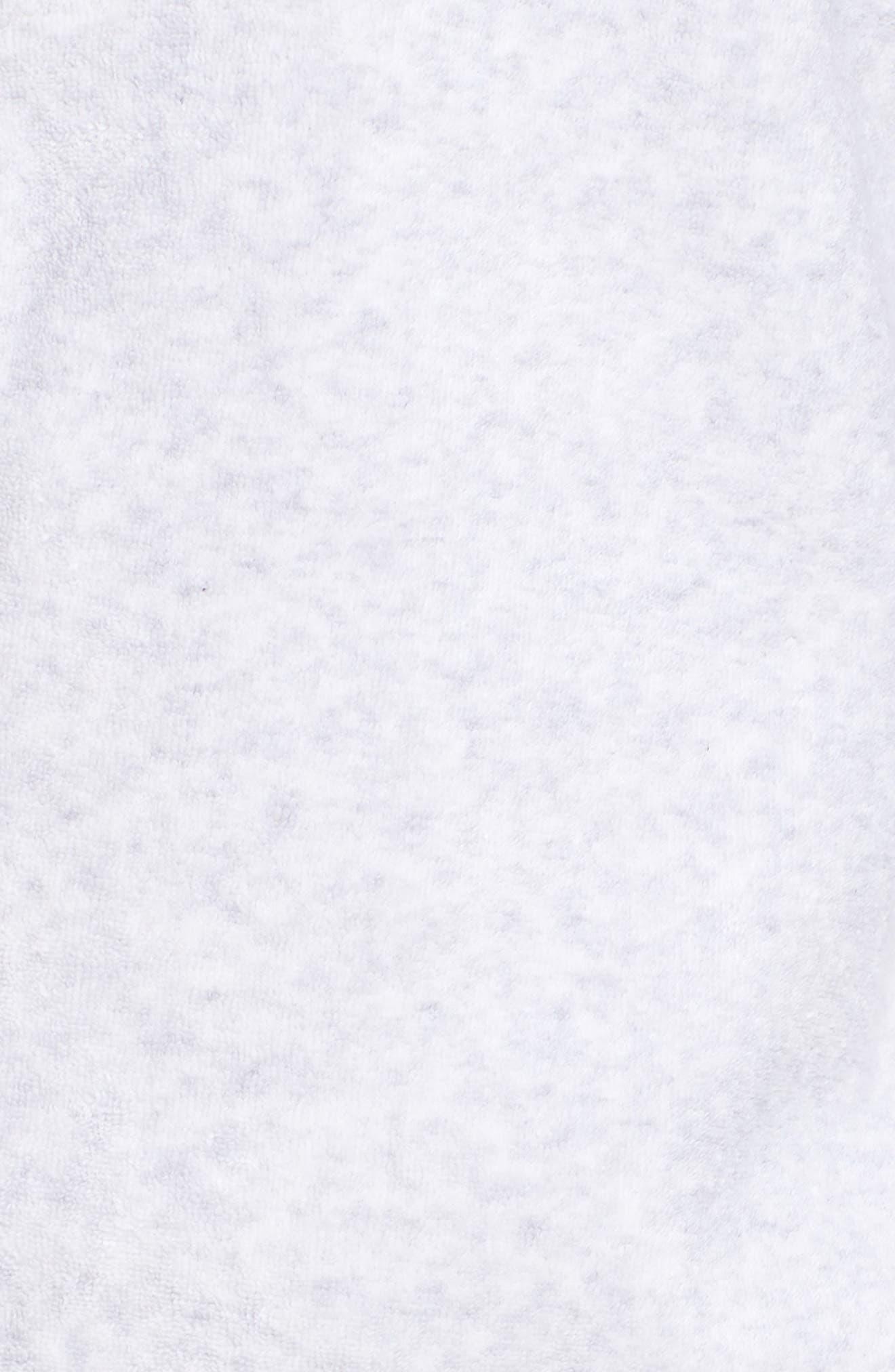 Sportswear French Terry Jacket,                             Alternate thumbnail 7, color,                             Birch Heather/ White/ Black